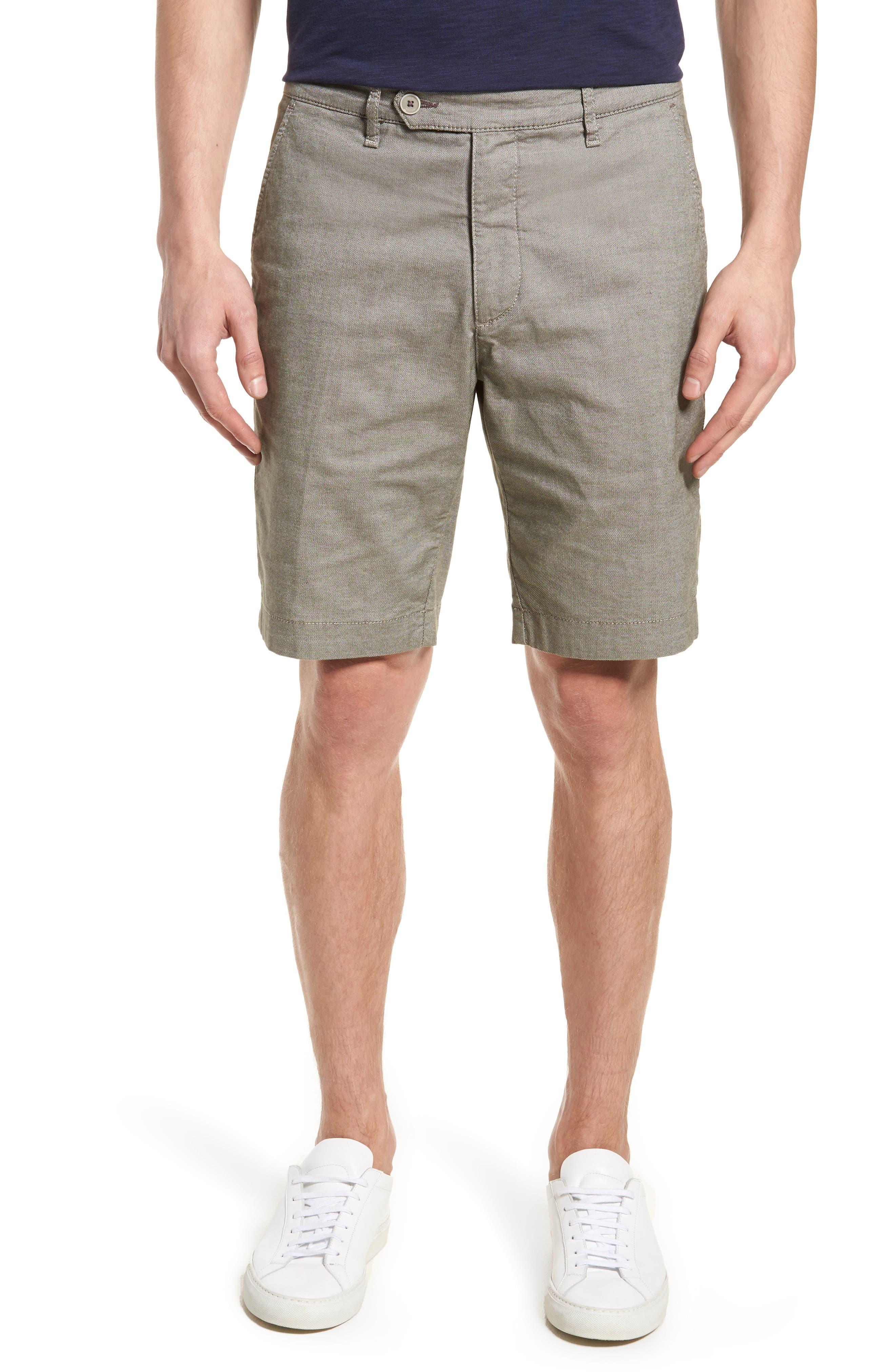 Herbosh Shorts,                         Main,                         color, GREY MARL