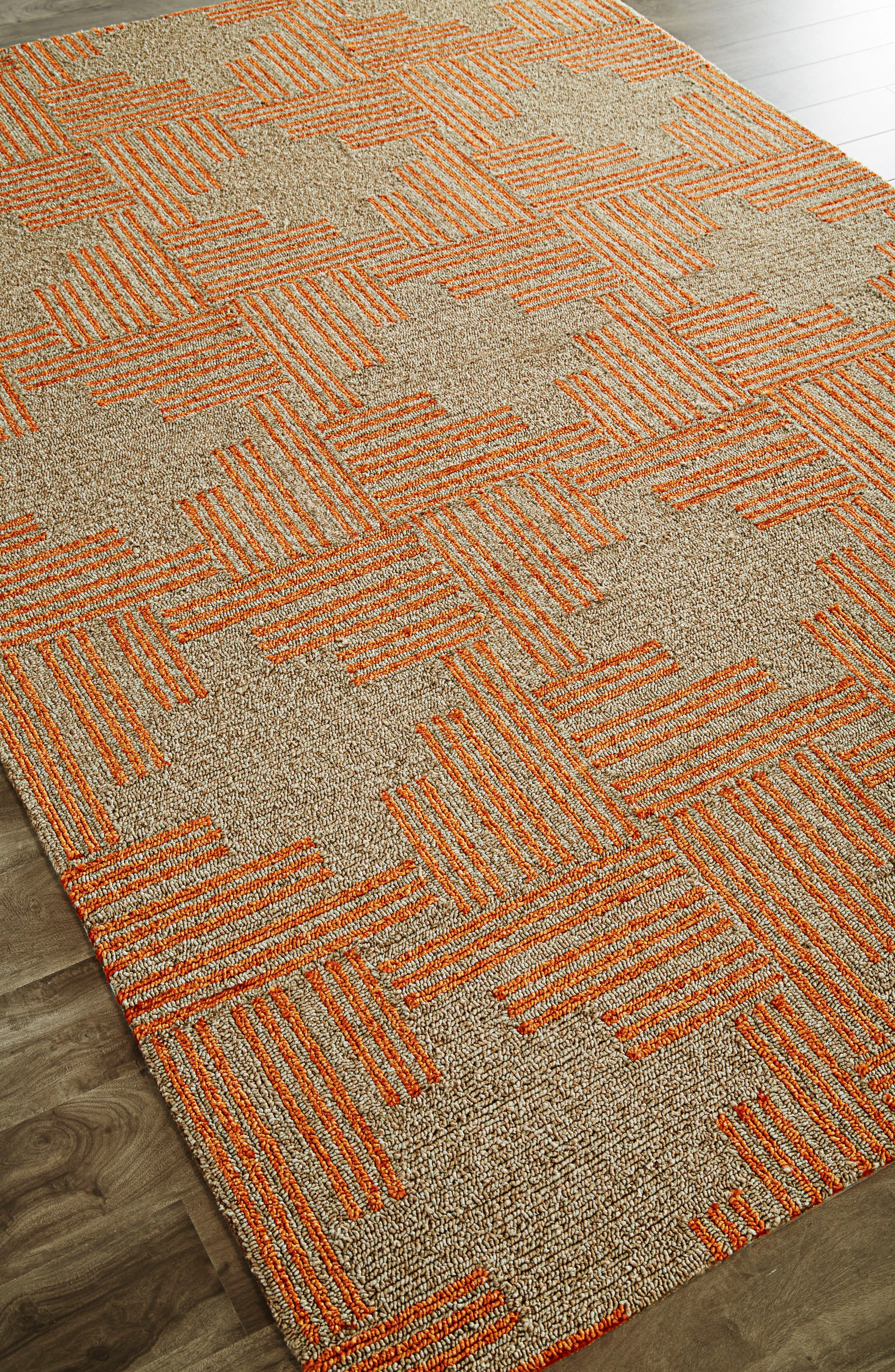 Contemporary Geo Cross Rug,                             Main thumbnail 1, color,                             250