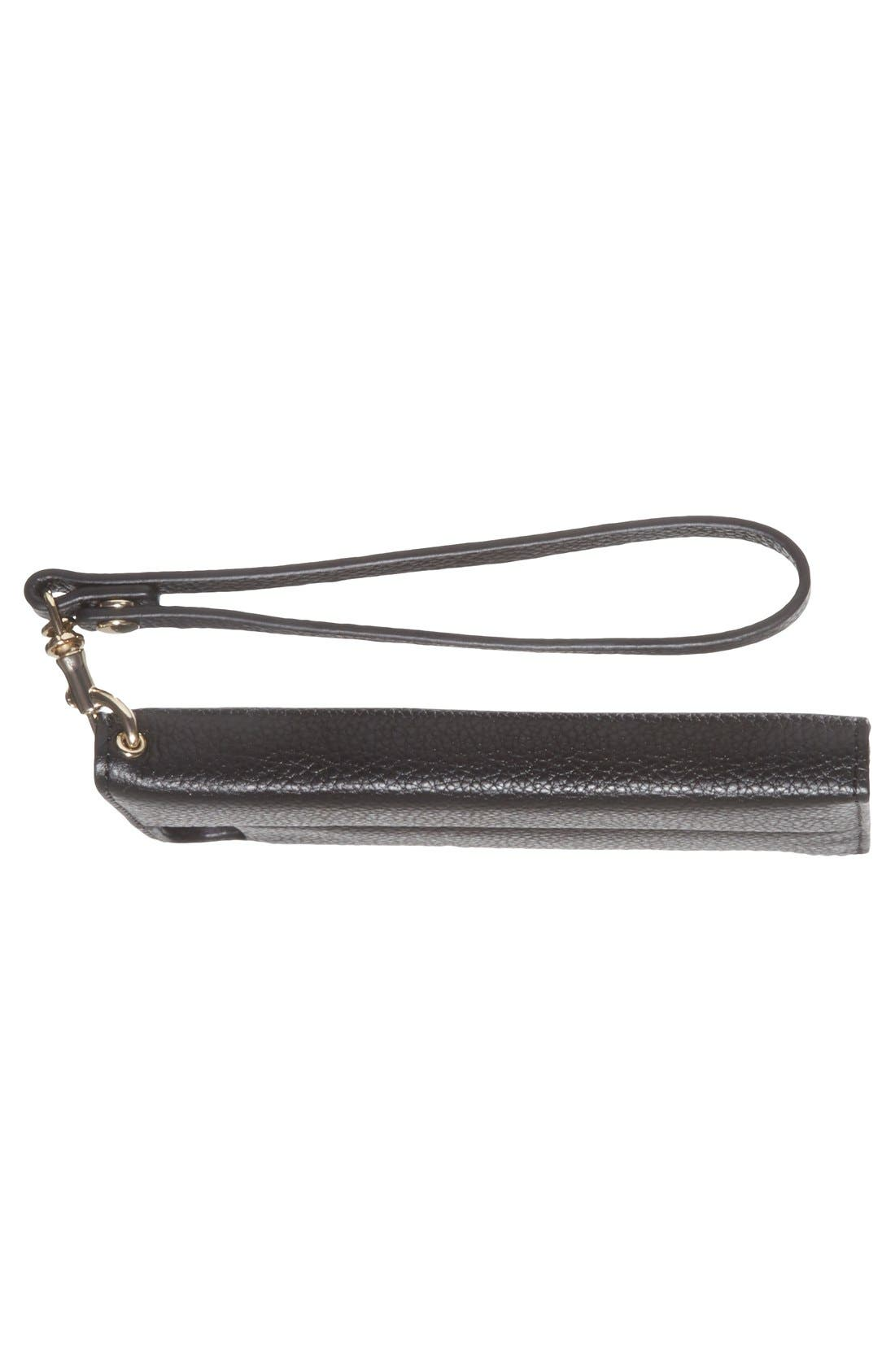 REBECCA MINKOFF,                             iPhone 6 & 6s Folio Wristlet,                             Alternate thumbnail 3, color,                             001