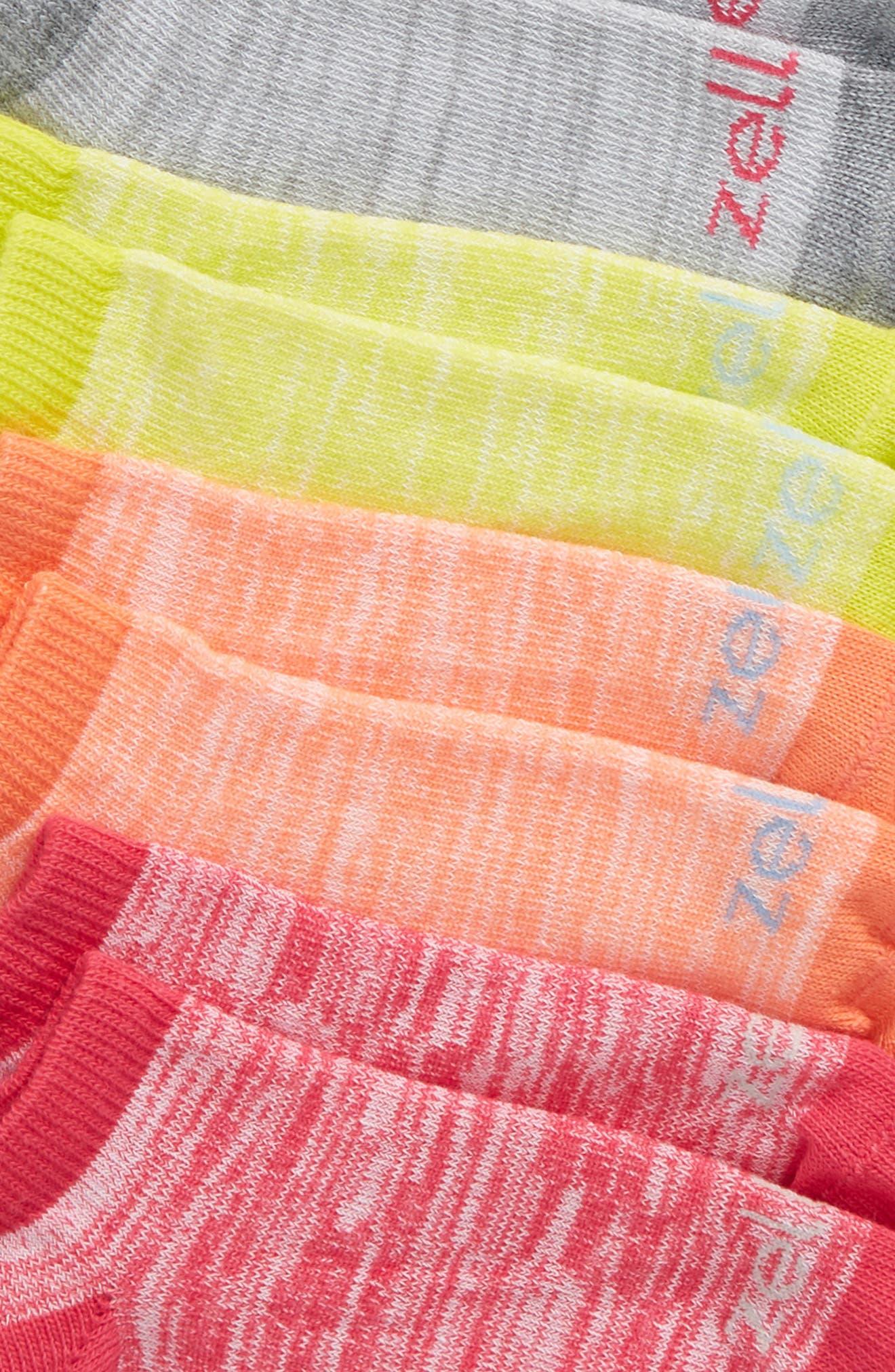 6-Pack Ankle Socks,                             Alternate thumbnail 14, color,