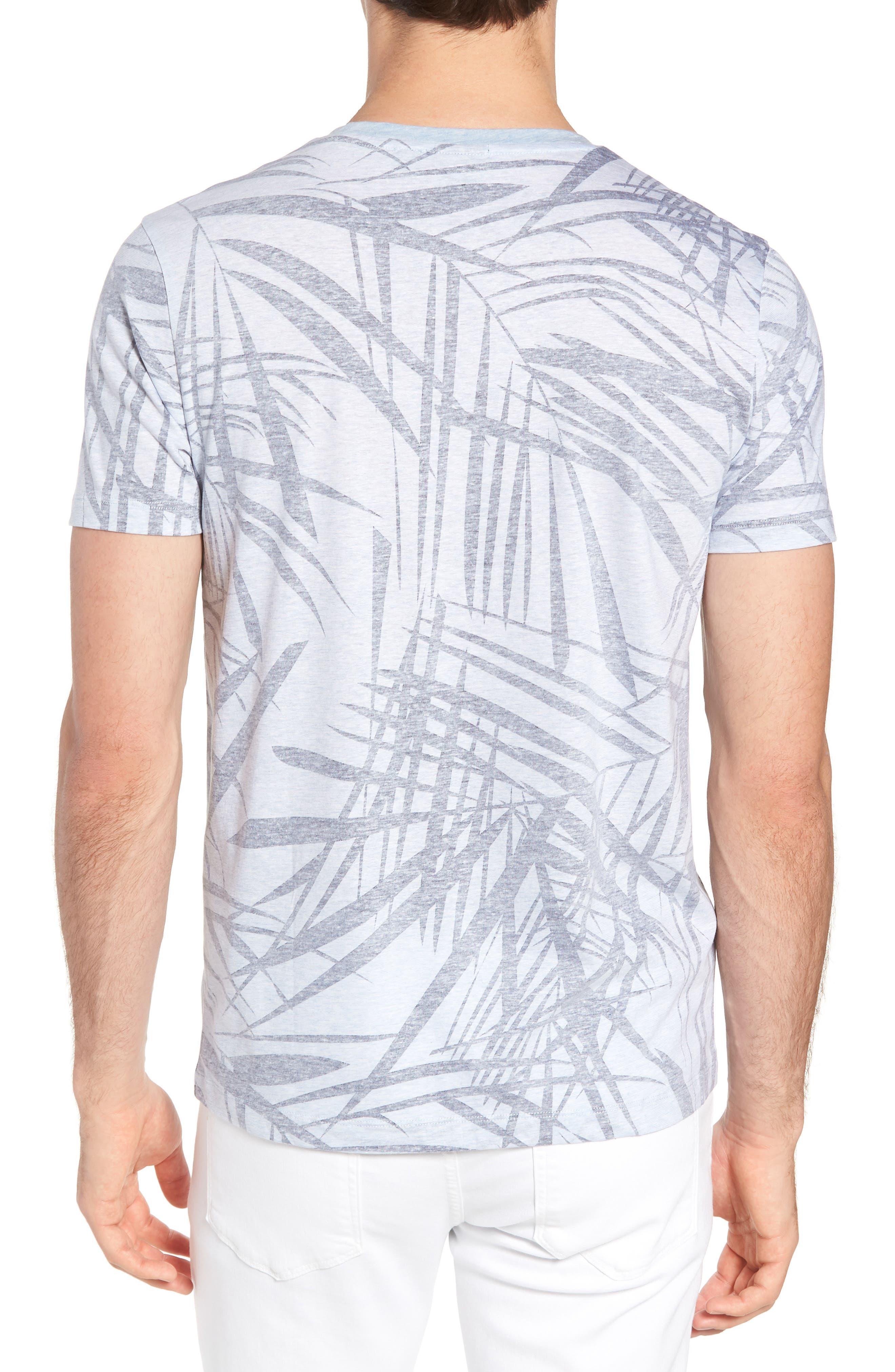 Tessler Crewneck T-Shirt,                             Alternate thumbnail 2, color,                             BLUE