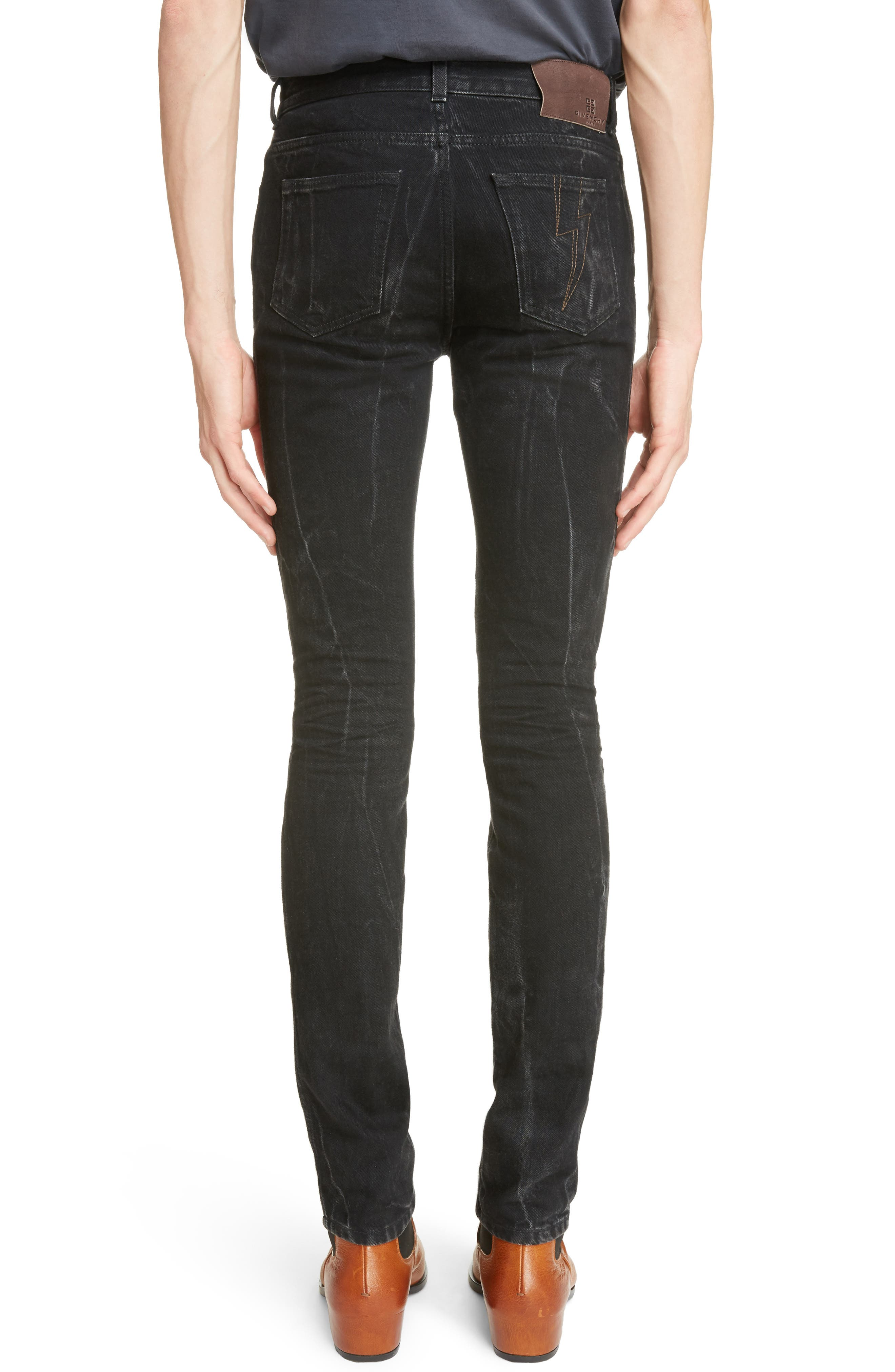 Slim Fit Vintage Wash Jeans,                             Alternate thumbnail 2, color,                             002