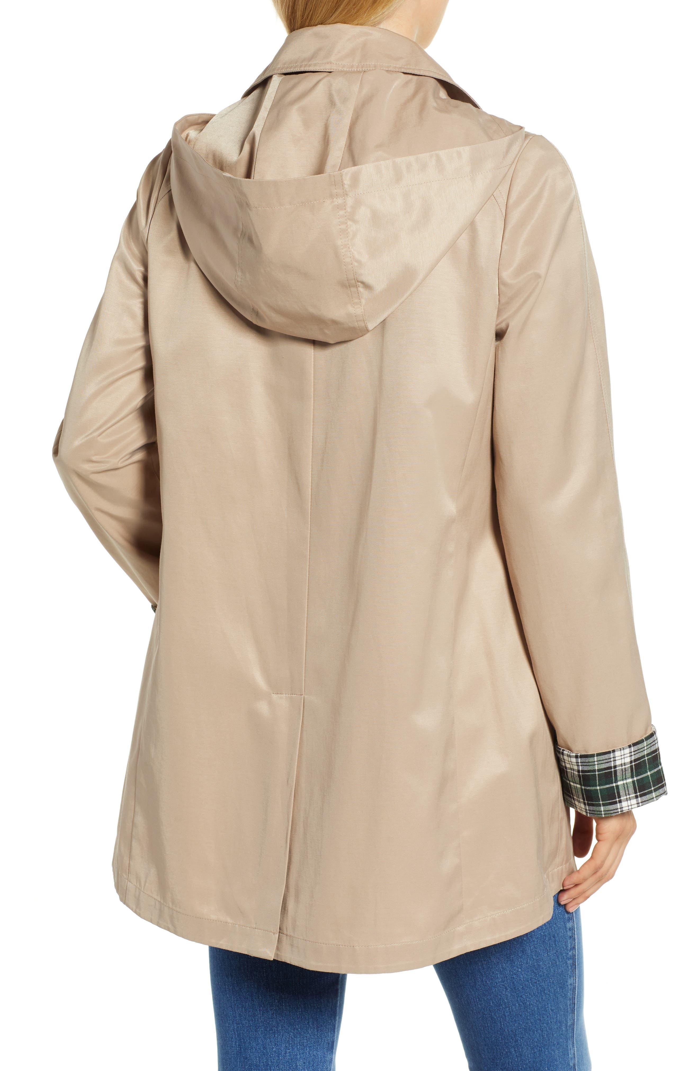 Hooded Mac Jacket,                             Alternate thumbnail 2, color,                             KHAKI