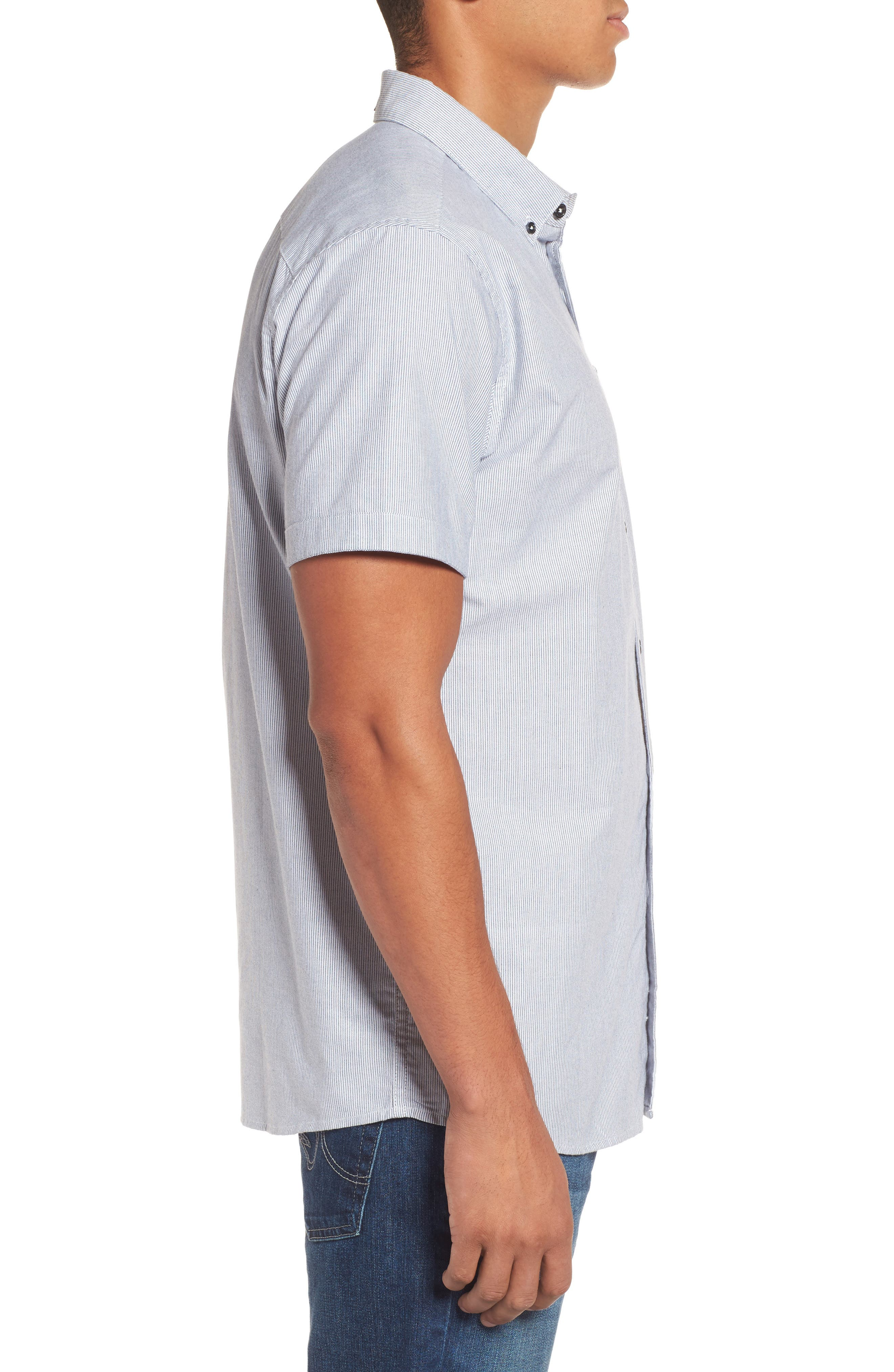 Ourtime Woven Shirt,                             Alternate thumbnail 3, color,                             116