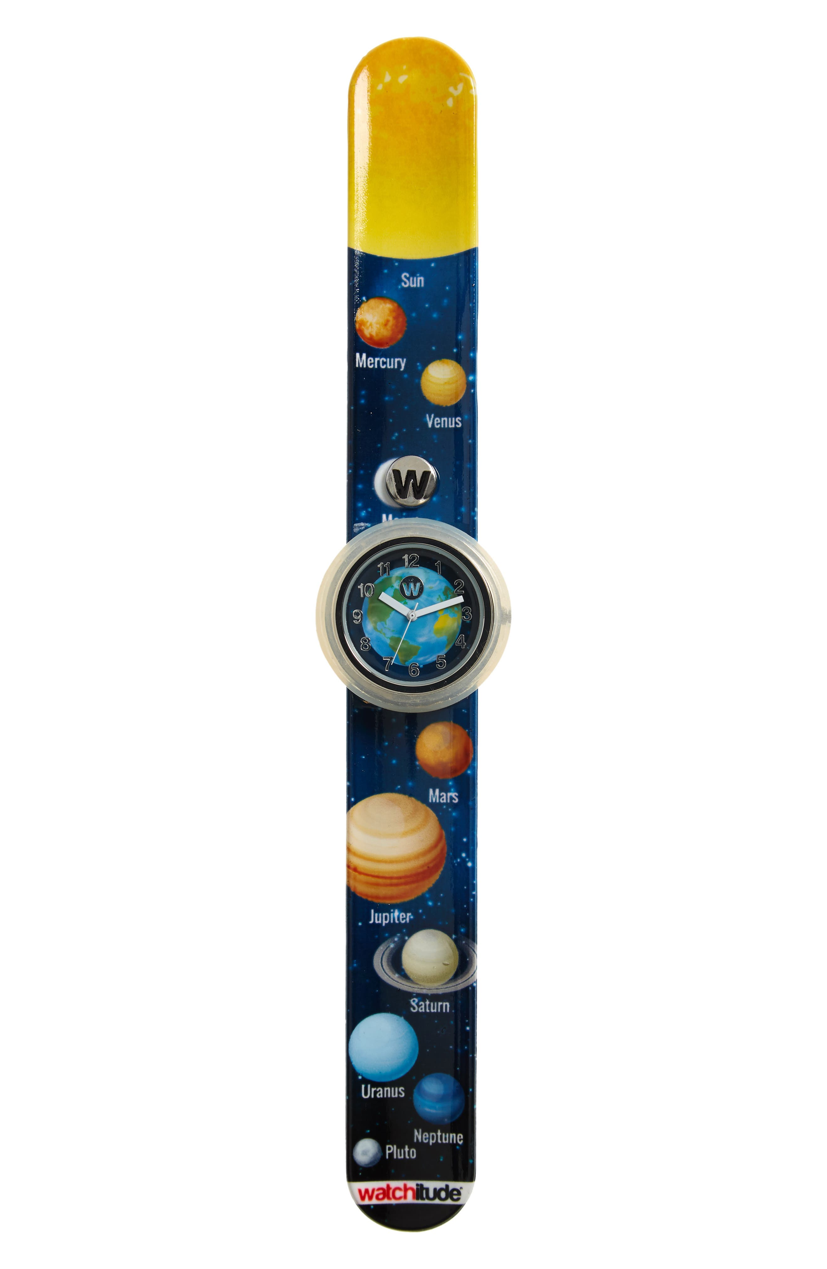 Boys Watchitude Solar System Slap Watch