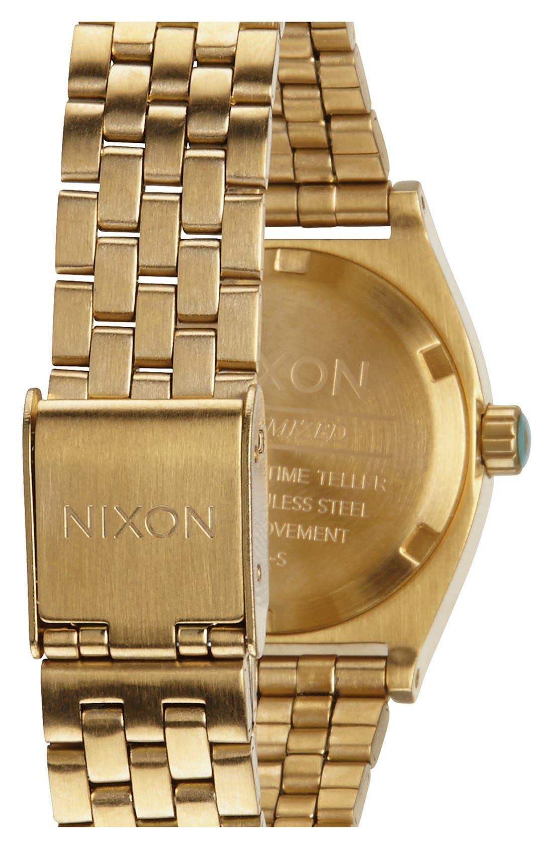 'The Small Time Teller' Bracelet Watch, 26mm,                             Alternate thumbnail 43, color,