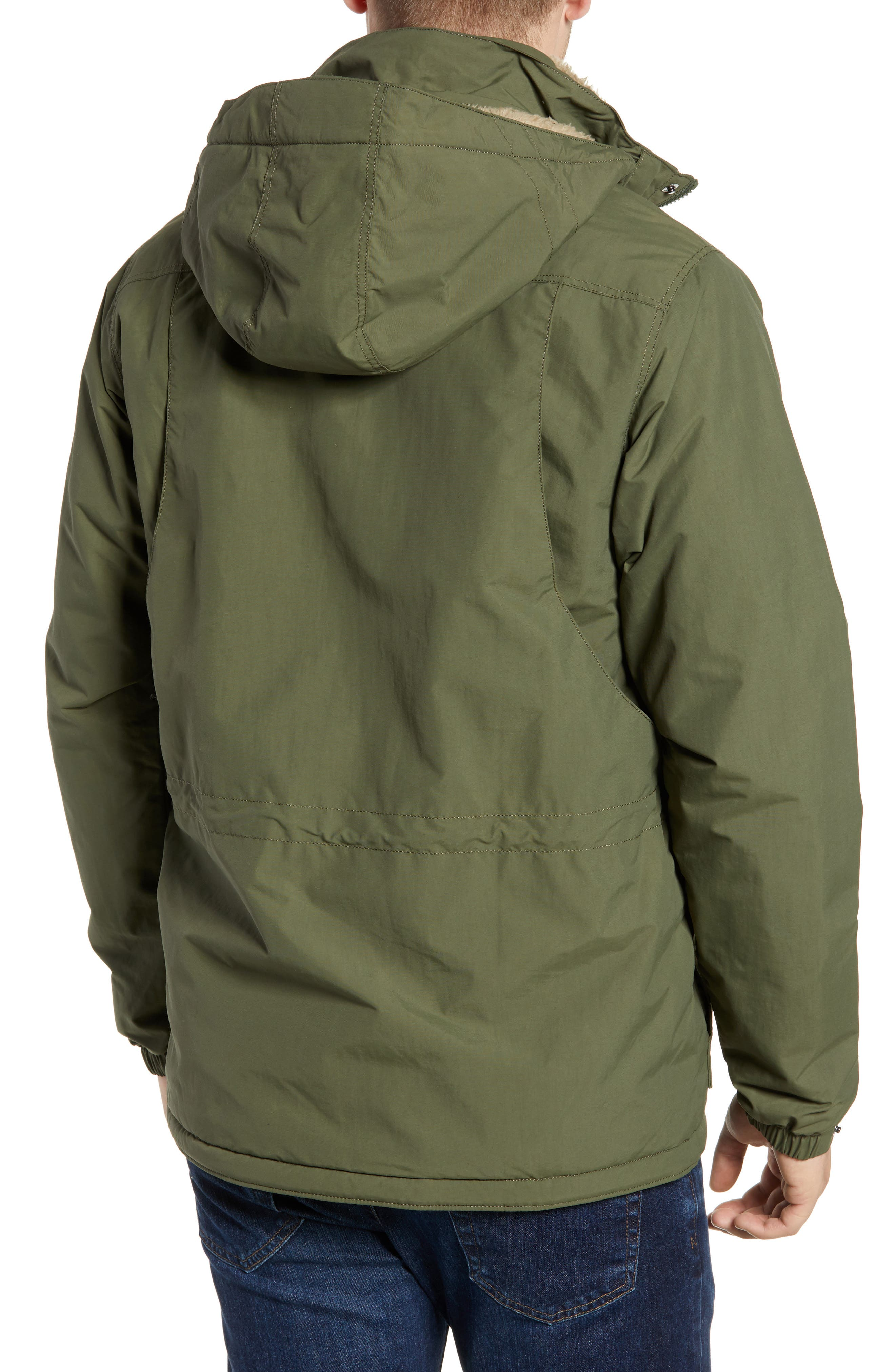 Isthmus Wind Resistant Water Repellent Hooded Parka,                             Alternate thumbnail 2, color,                             302