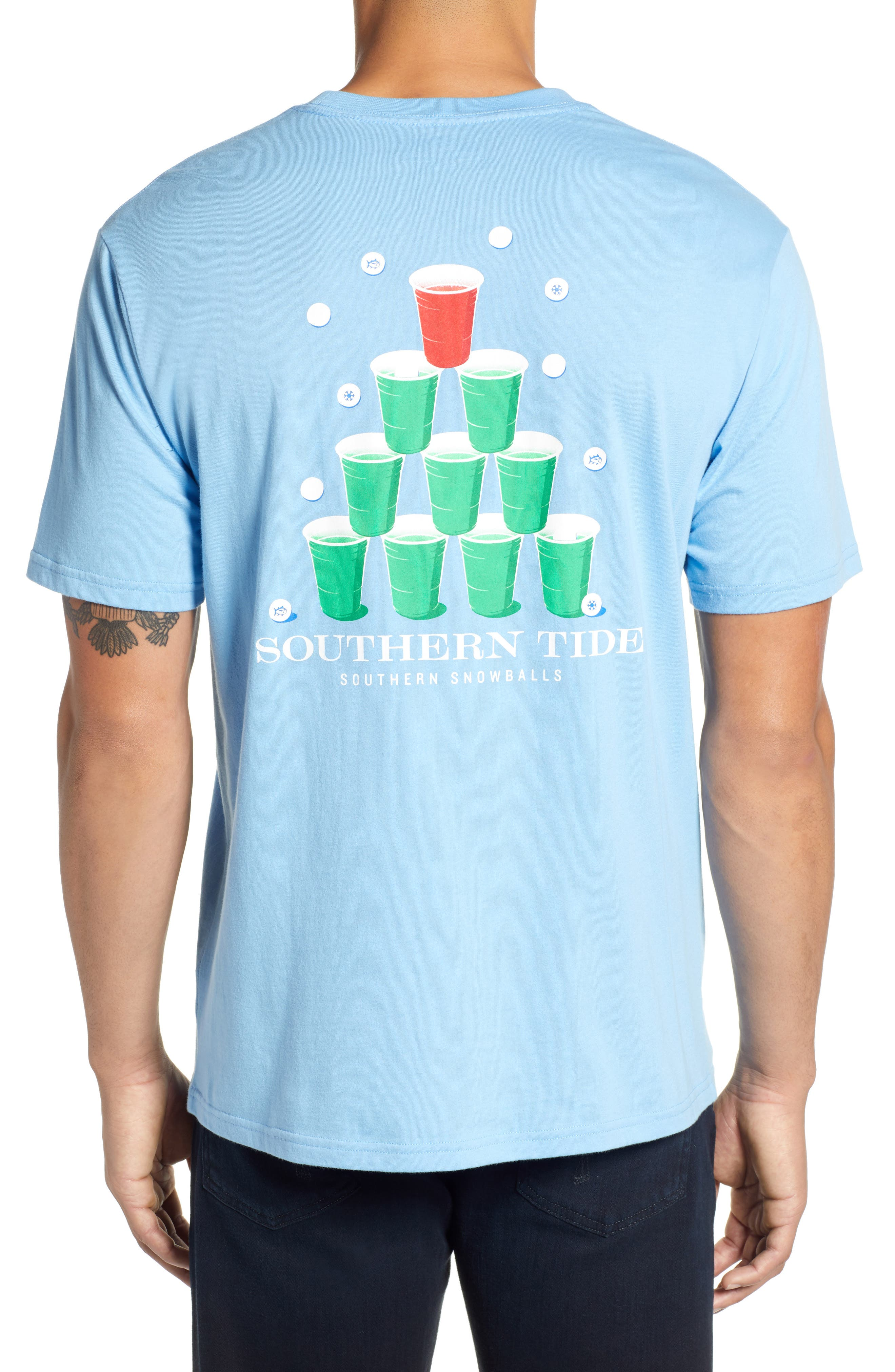 Southern Snowball T-Shirt,                             Alternate thumbnail 2, color,                             392