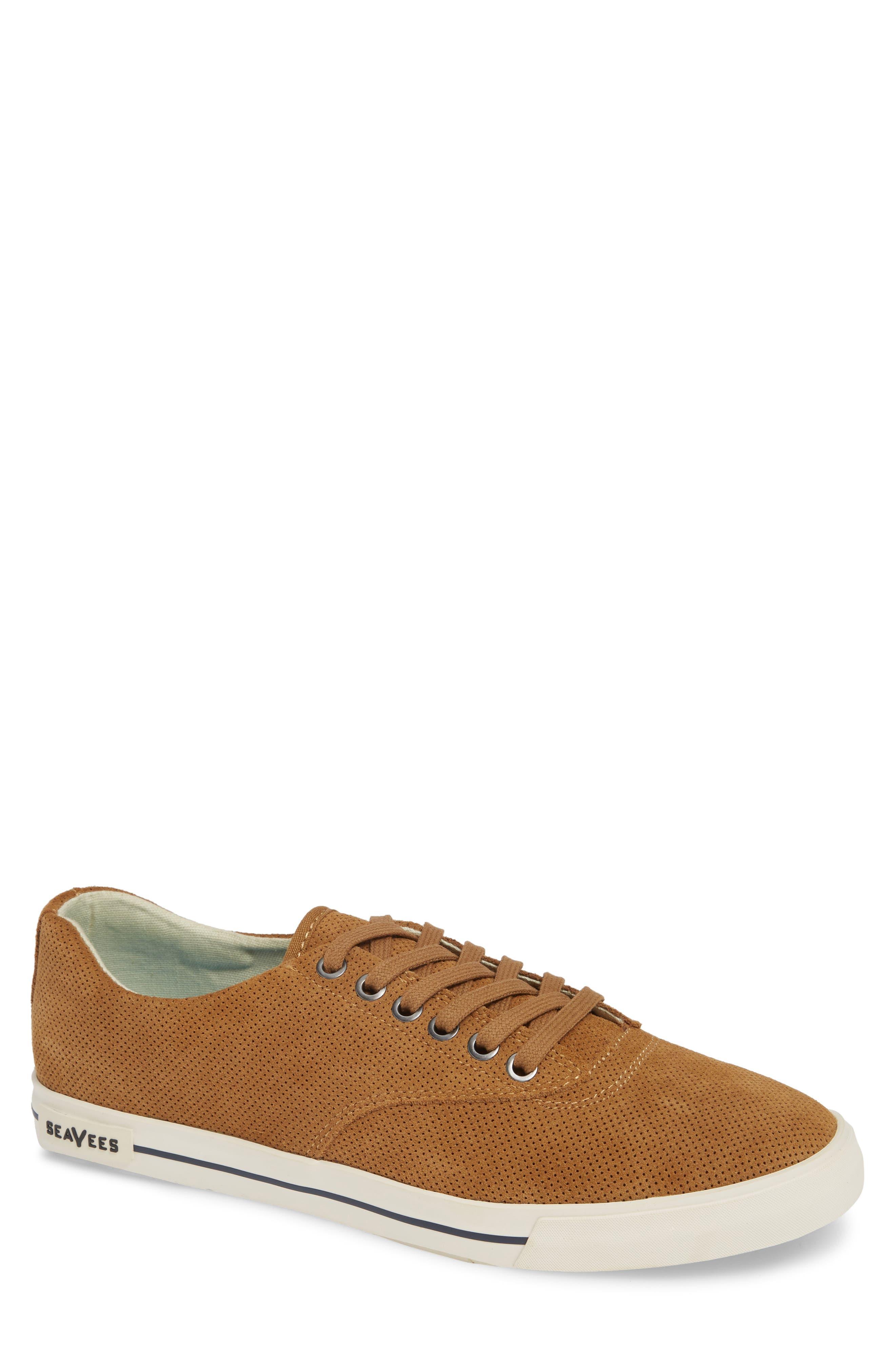 SEAVEES Hermosa Varsity Sneaker in Golden Brown