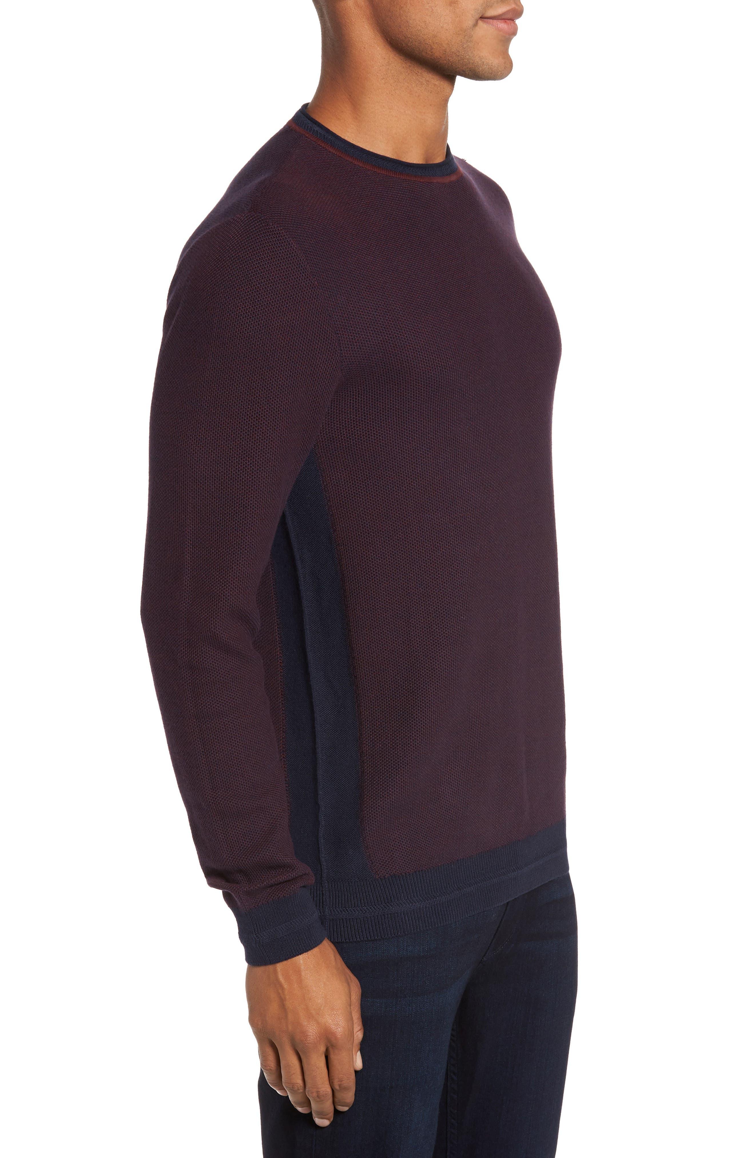 Space Dye Slim Fit Sweater,                             Alternate thumbnail 9, color,
