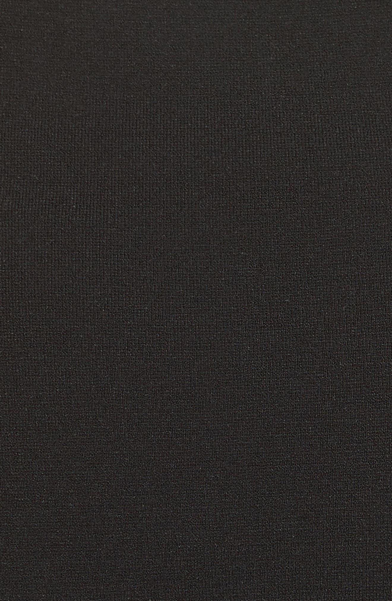 One-Shoulder Knit Dress,                             Alternate thumbnail 9, color,