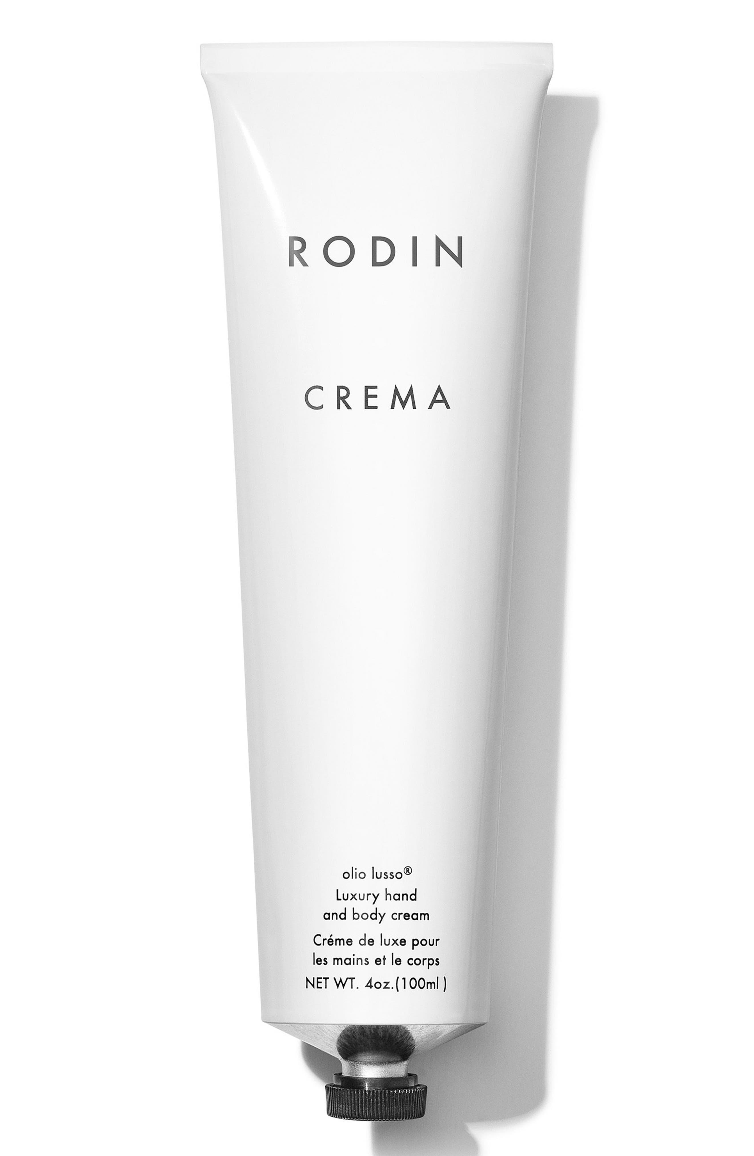 RODIN OLIO LUSSO,                             Crema Luxury Hand and Body Cream,                             Main thumbnail 1, color,                             NO COLOR