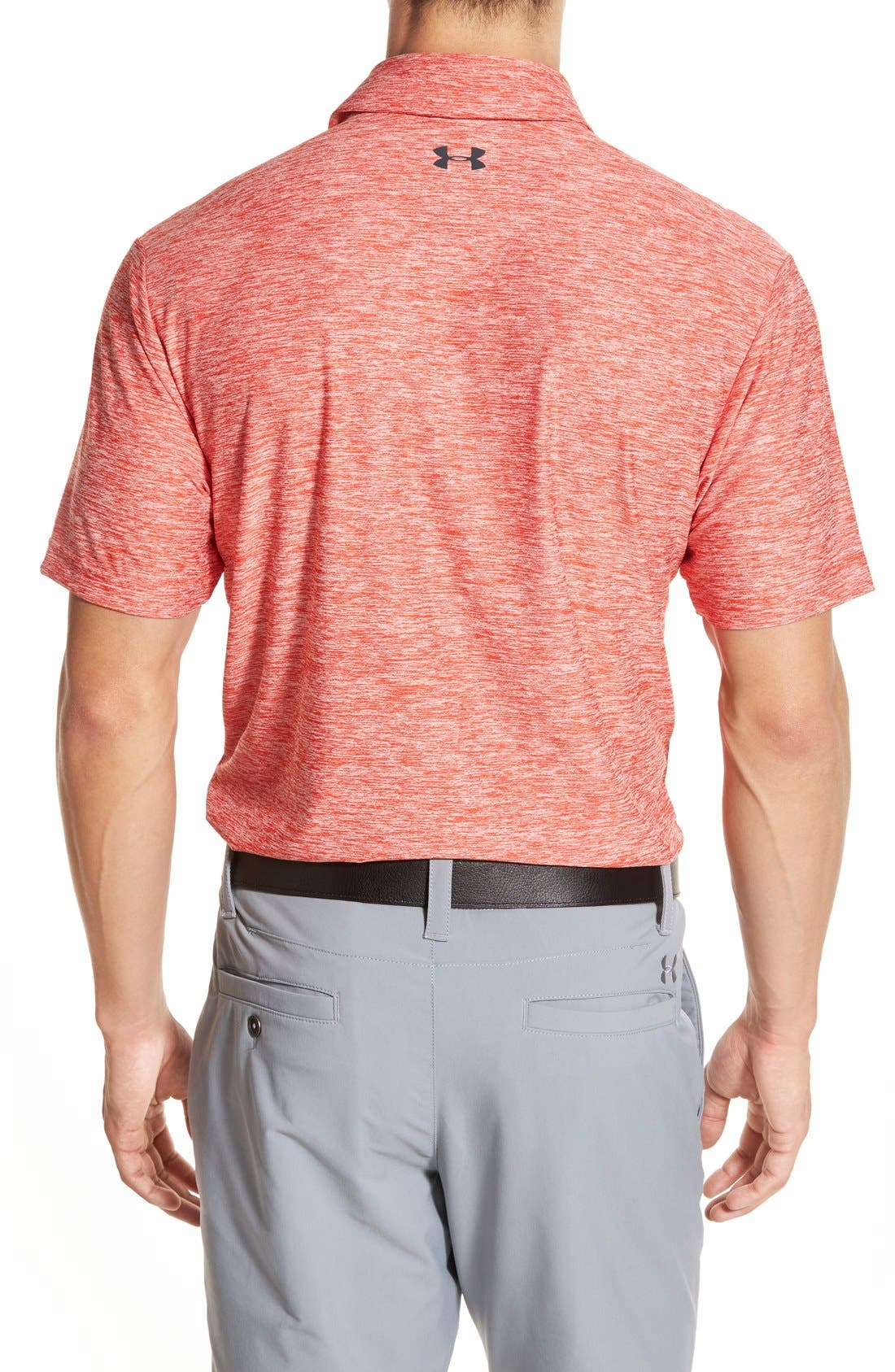 'Playoff' Loose Fit Short Sleeve Polo,                             Alternate thumbnail 113, color,
