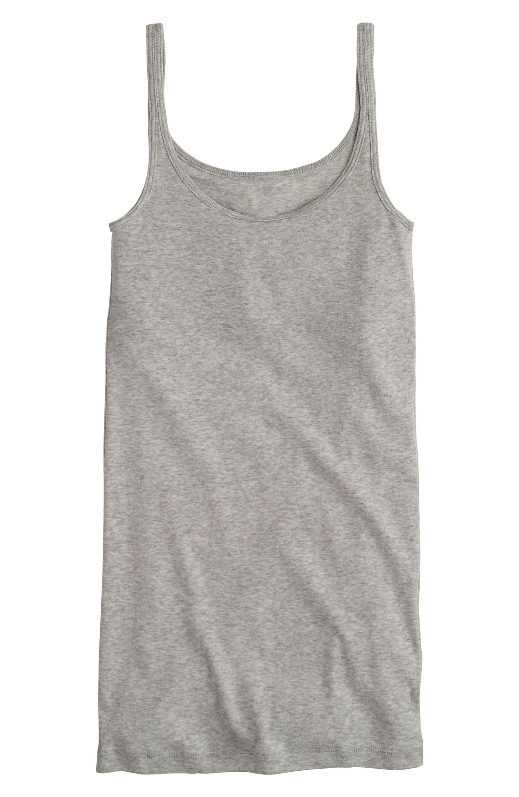 d89156a468d5f J.Crew Slim Perfect Fit Tank with Built-In Bra (Regular   Plus Size ...