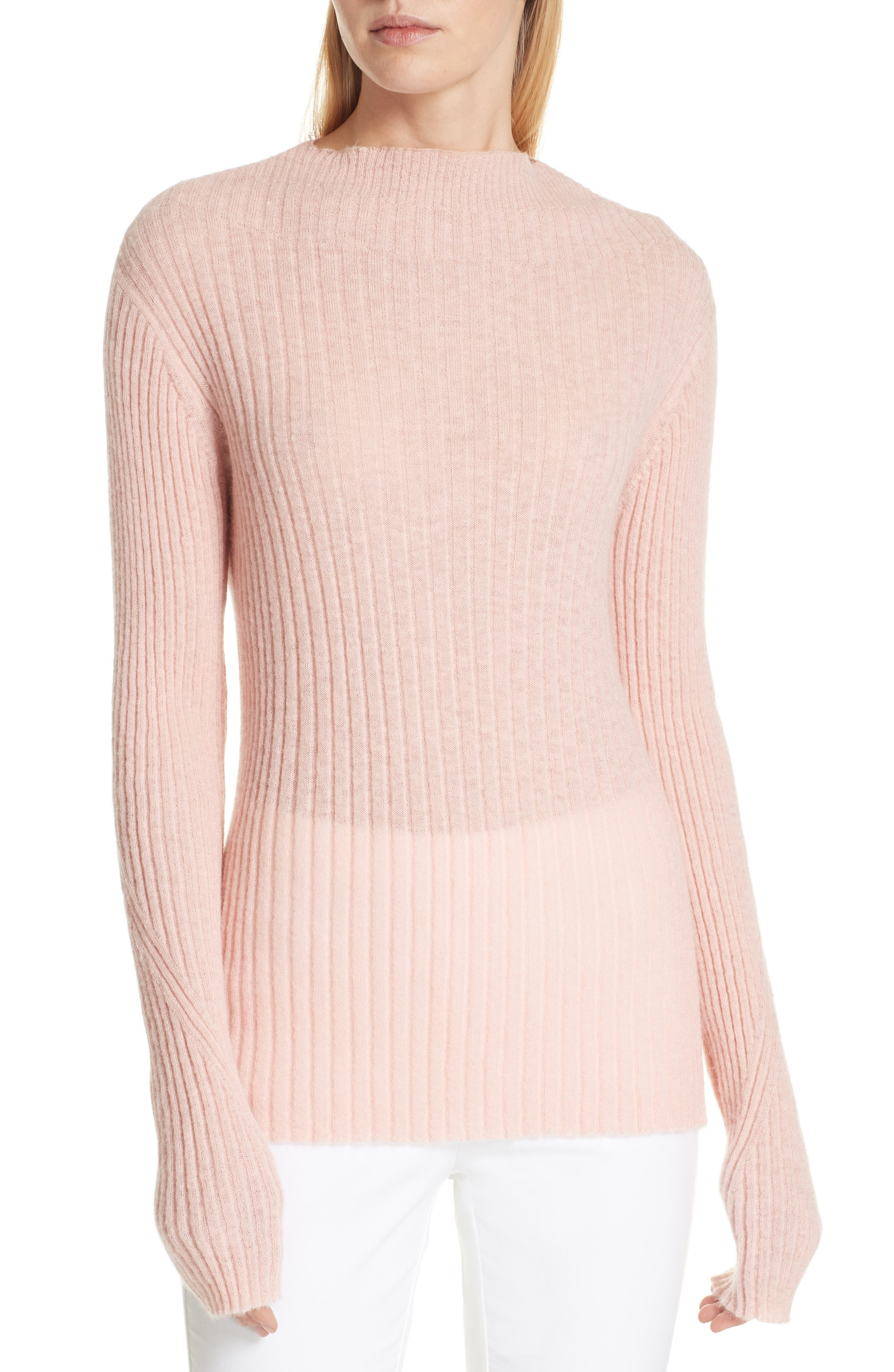 Donna Mohair Blend Sweater,                             Main thumbnail 1, color,                             950