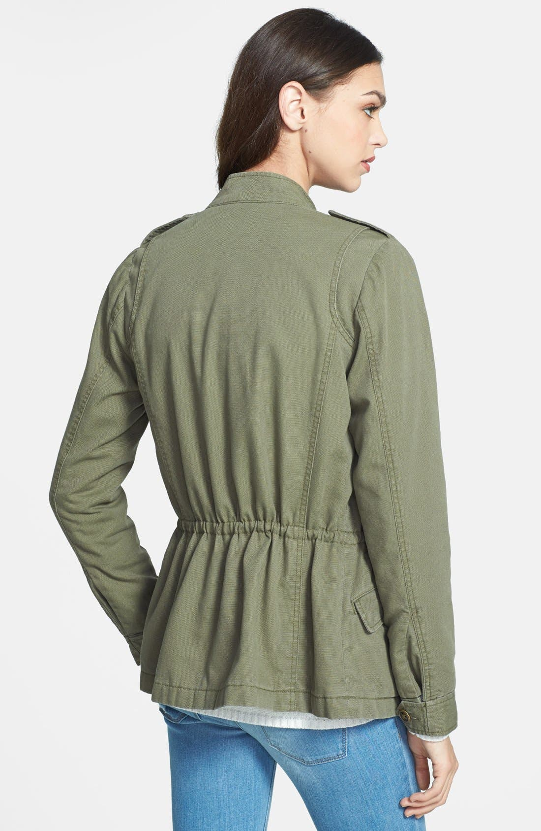 'Expedition' Cotton Twill Jacket,                             Alternate thumbnail 5, color,