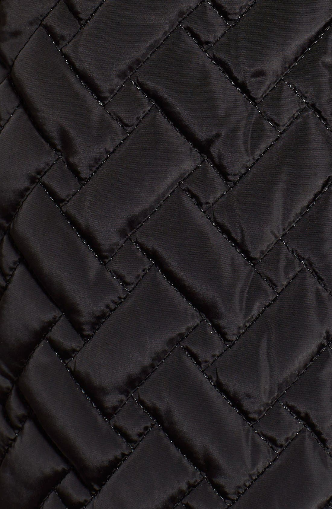 Belted Quilted Coat,                             Alternate thumbnail 16, color,