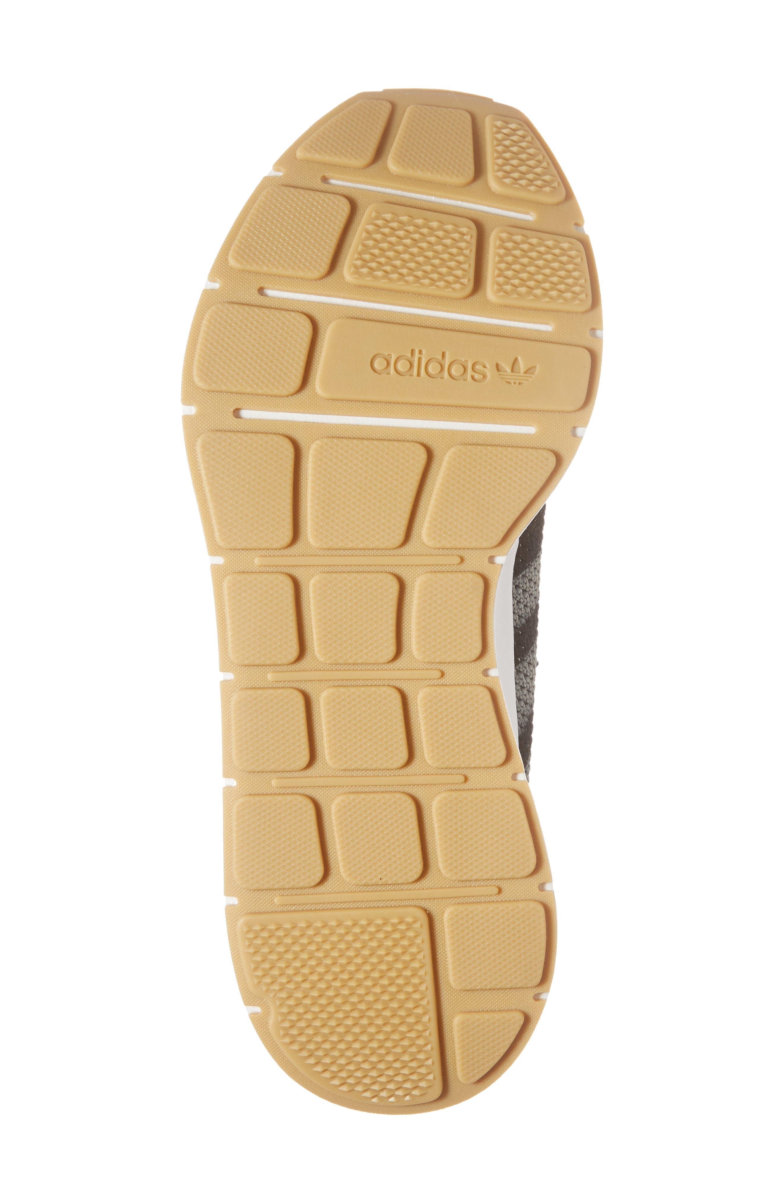Swift Run Primeknit Sneaker,                             Alternate thumbnail 6, color,                             001