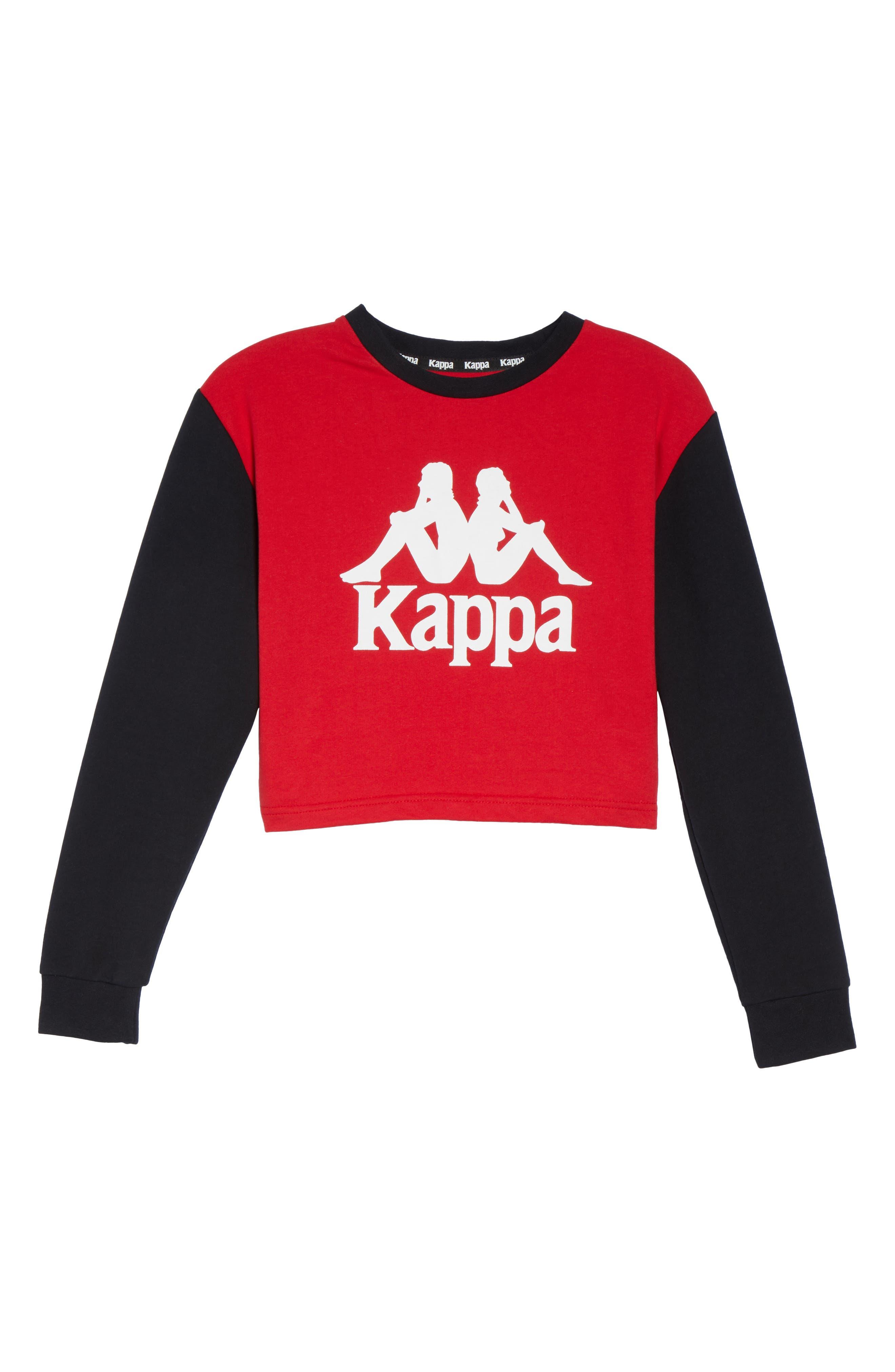 Authentic Crop Sweatshirt,                             Alternate thumbnail 7, color,                             001