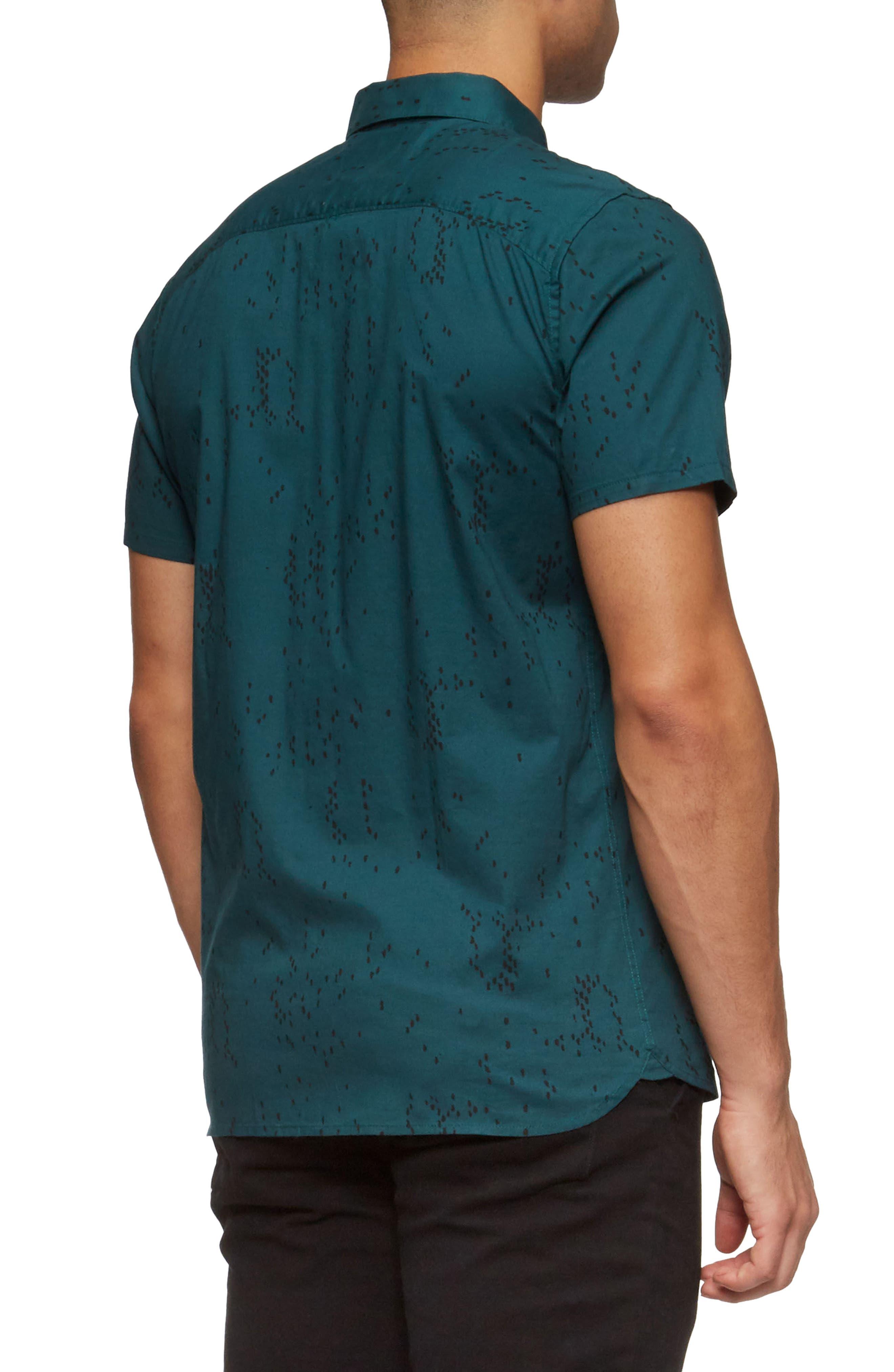 Bowery Short Sleeve Shirt,                             Alternate thumbnail 5, color,