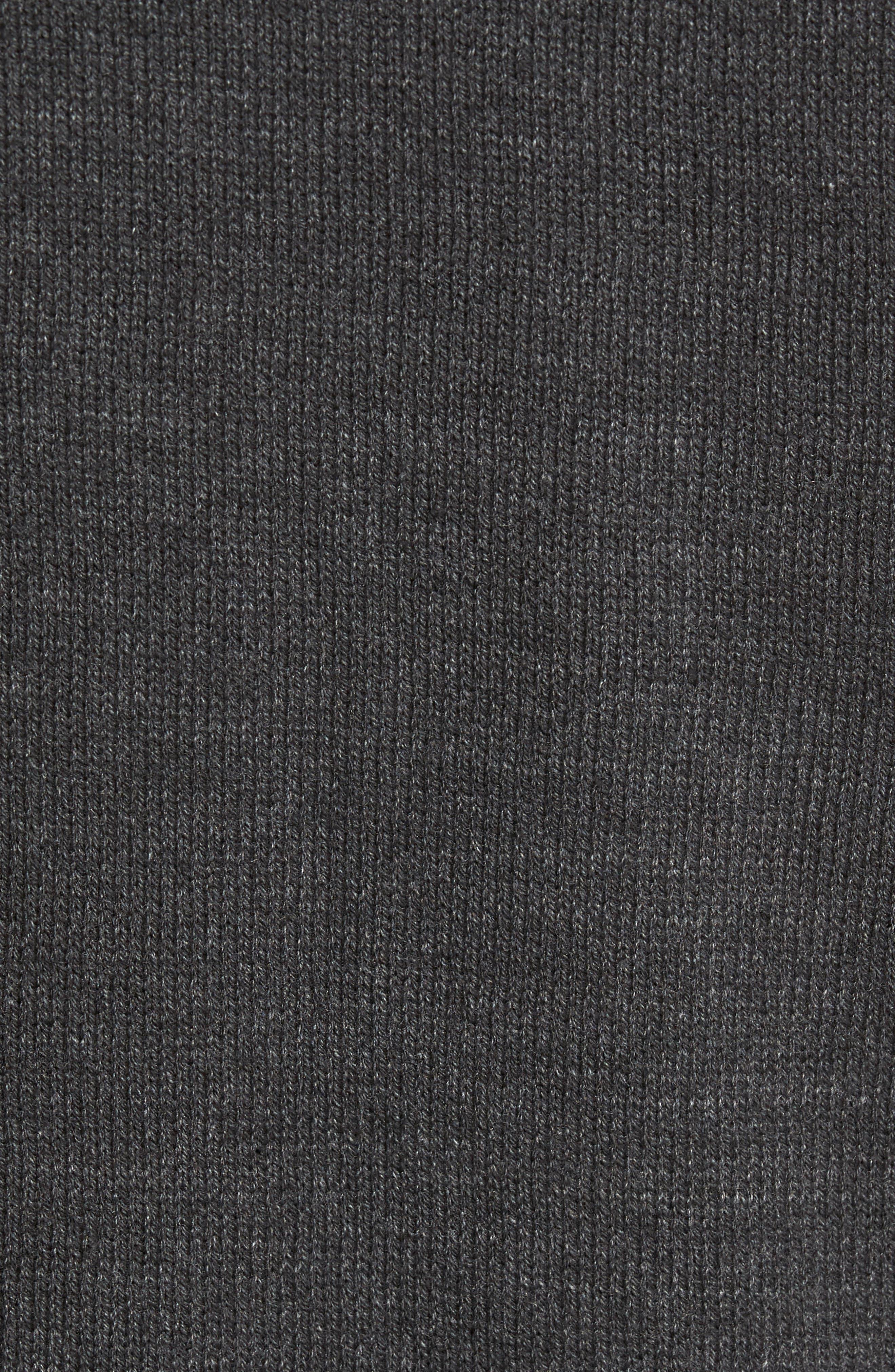 Destroyed Crewneck Sweater,                             Alternate thumbnail 5, color,                             030