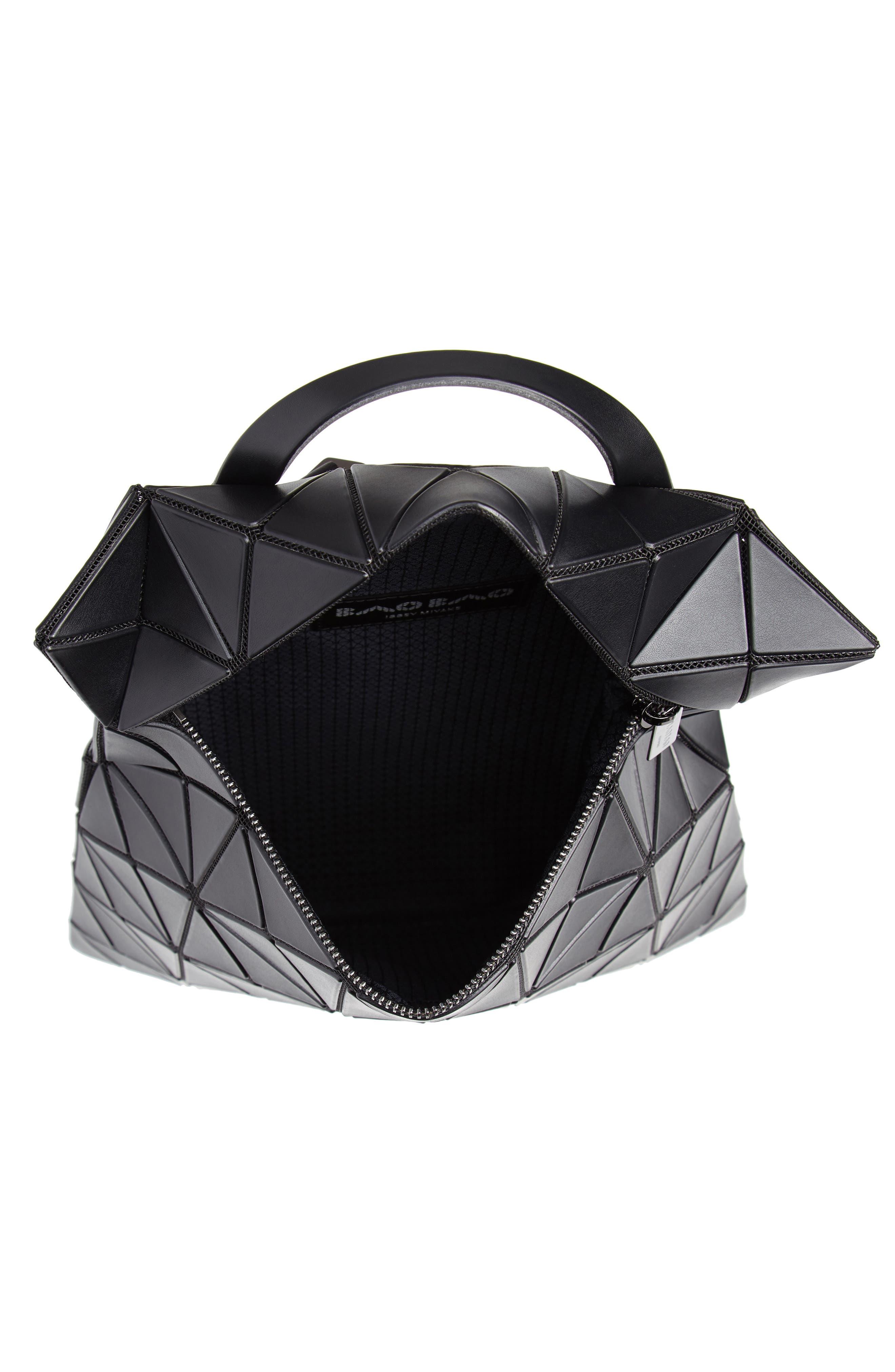 Flat Backpack,                             Alternate thumbnail 4, color,                             MATTE BLACK