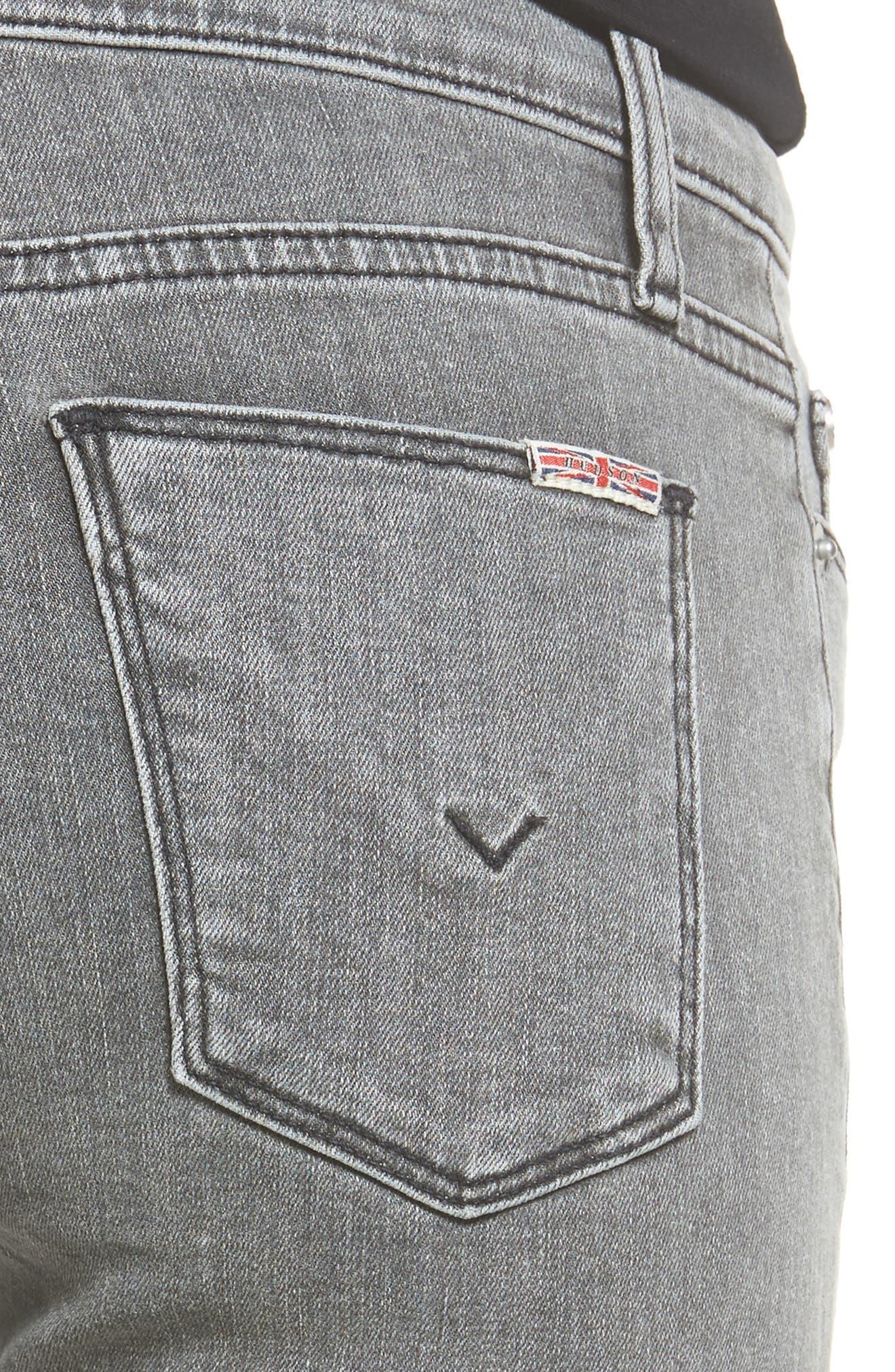 Hudson Nico Ankle Super Skinny Jeans,                             Alternate thumbnail 5, color,                             063