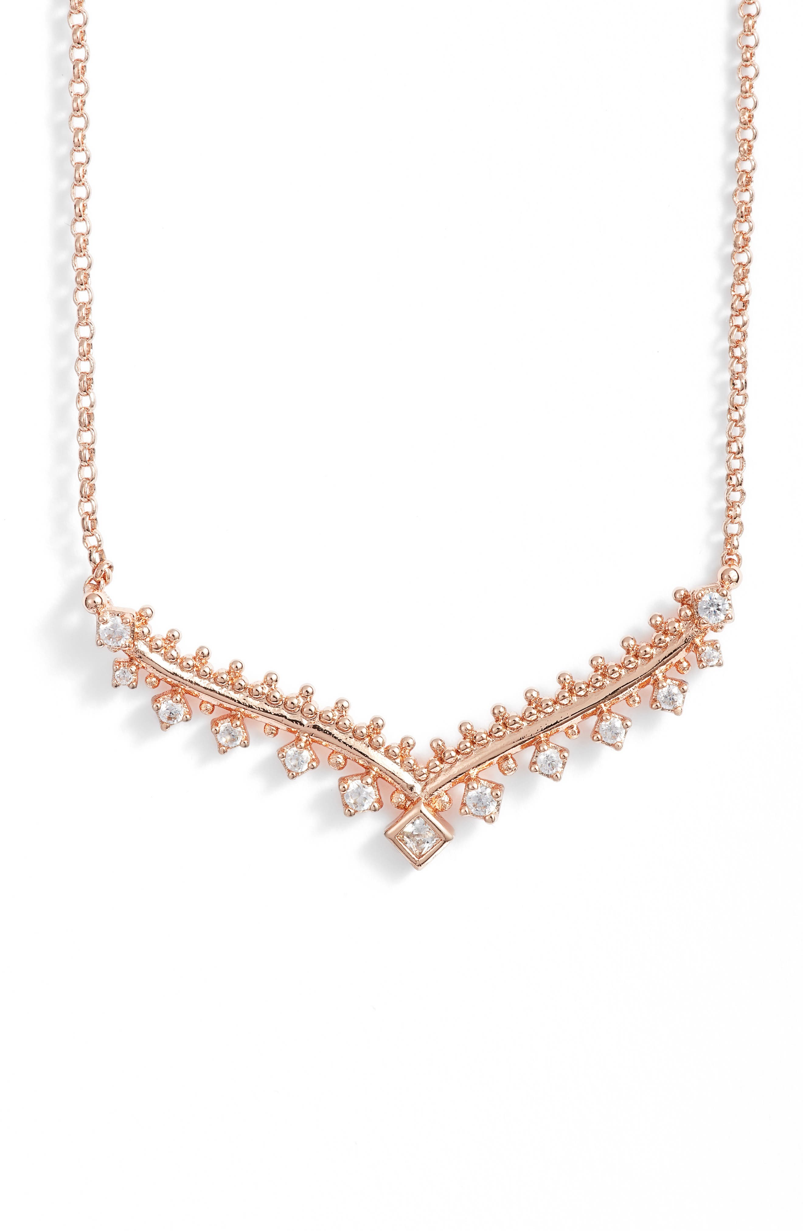 Vern Frontal Necklace,                             Main thumbnail 2, color,