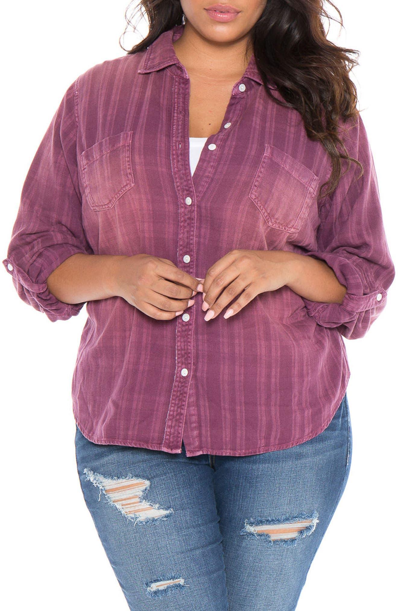 Plaid Western Shirt,                             Main thumbnail 2, color,