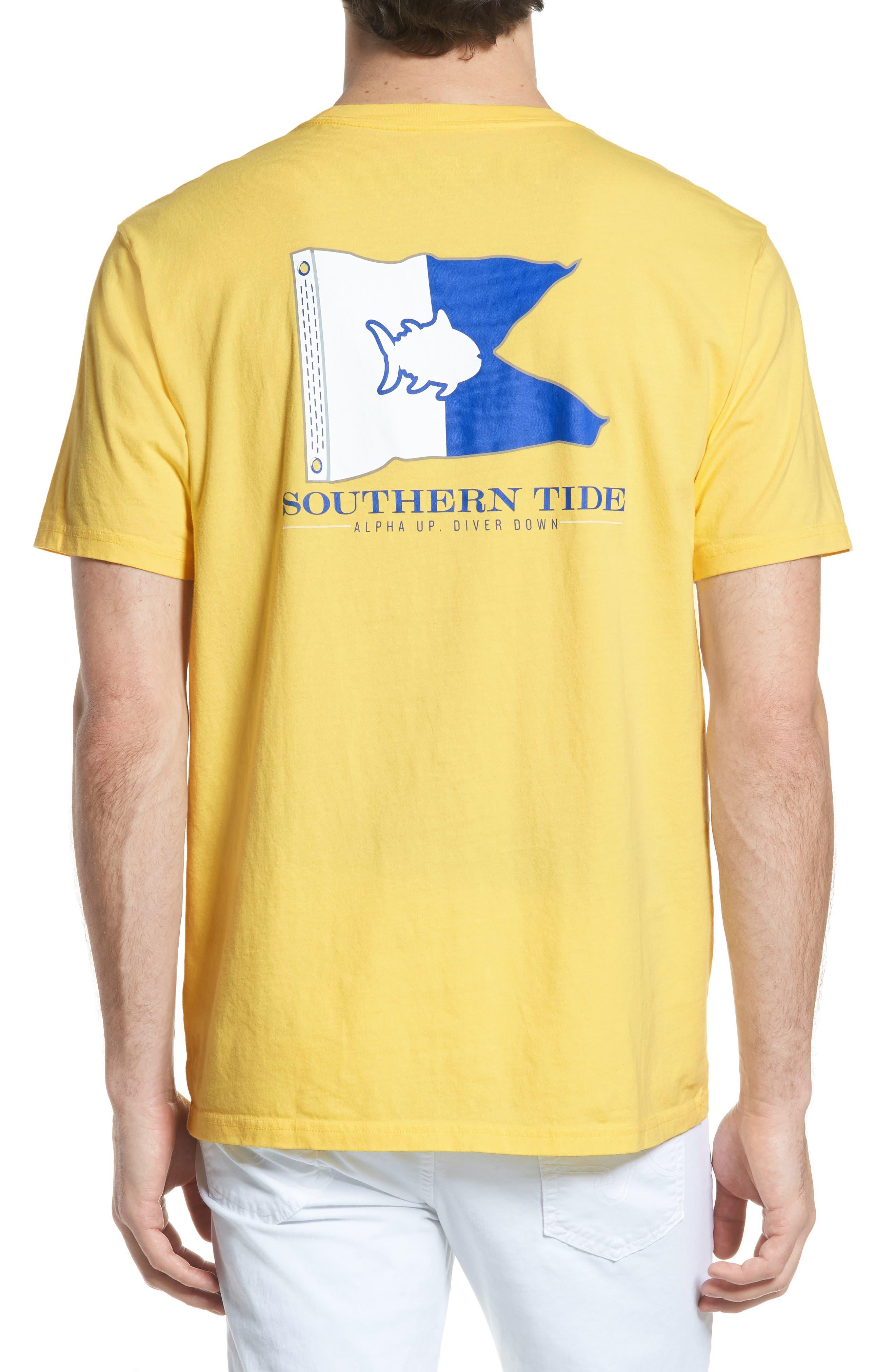 Alpha Up Crewneck T-Shirt,                             Alternate thumbnail 2, color,