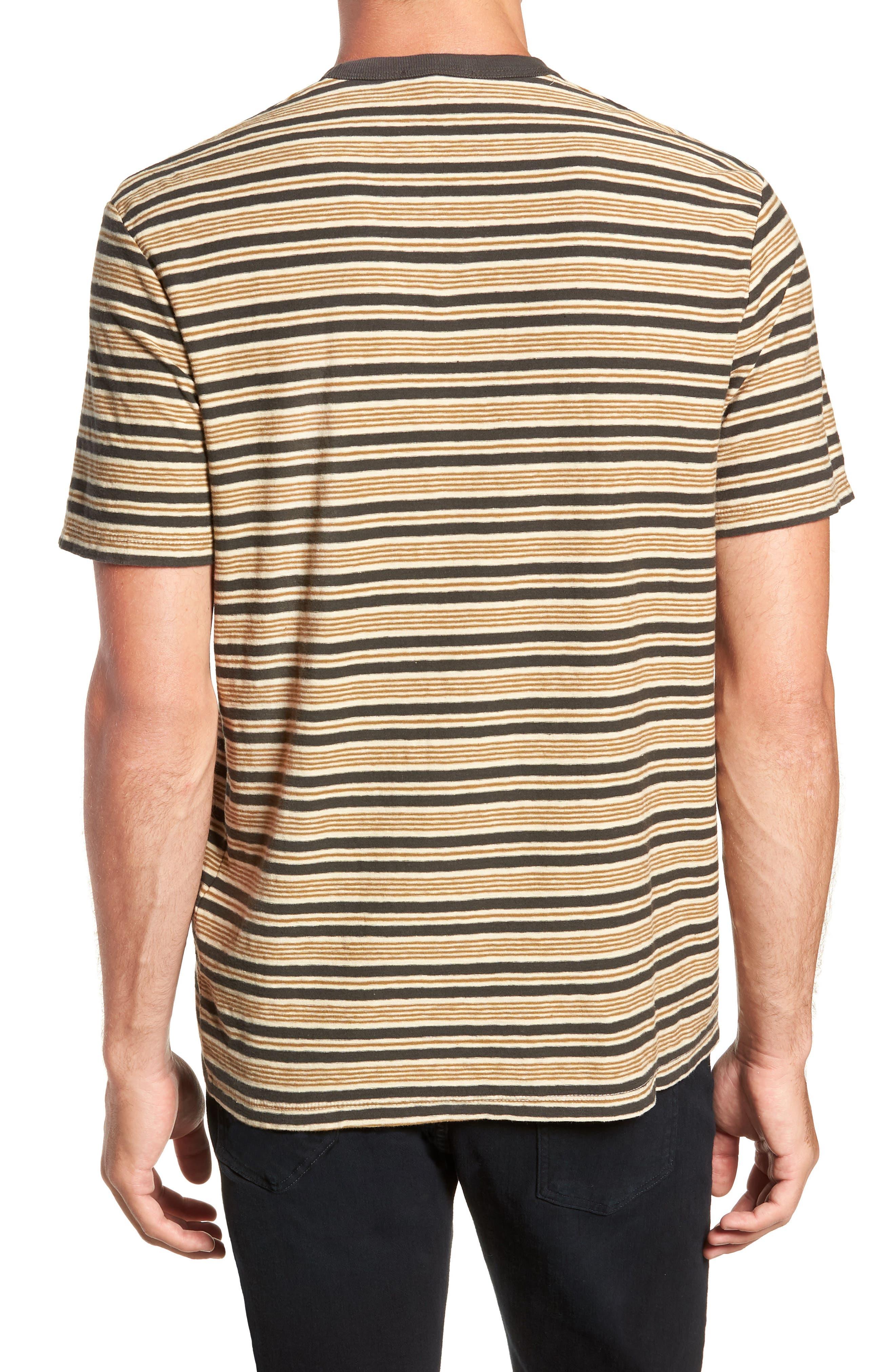 Vintage Stripe Regular Fit Pocket T-Shirt,                             Alternate thumbnail 2, color,                             300
