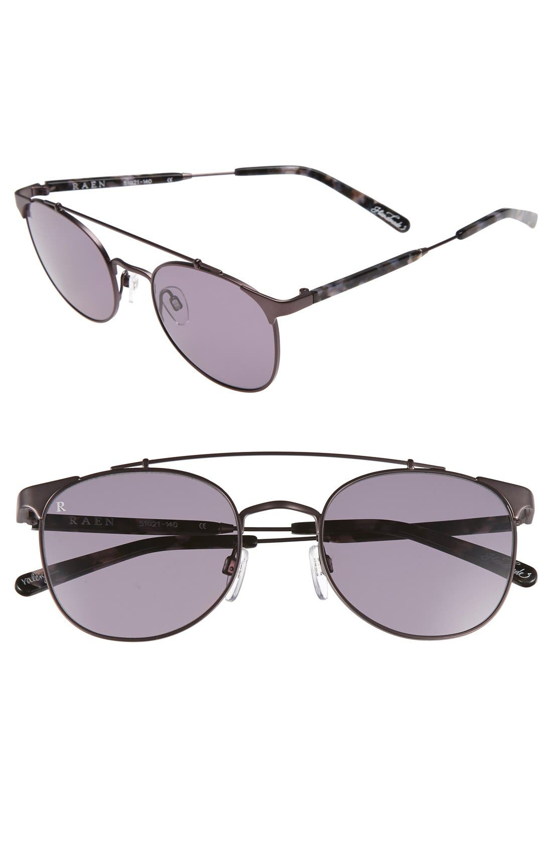 'Raleigh' 51mm Sunglasses,                         Main,                         color, MATTE RIPPLE