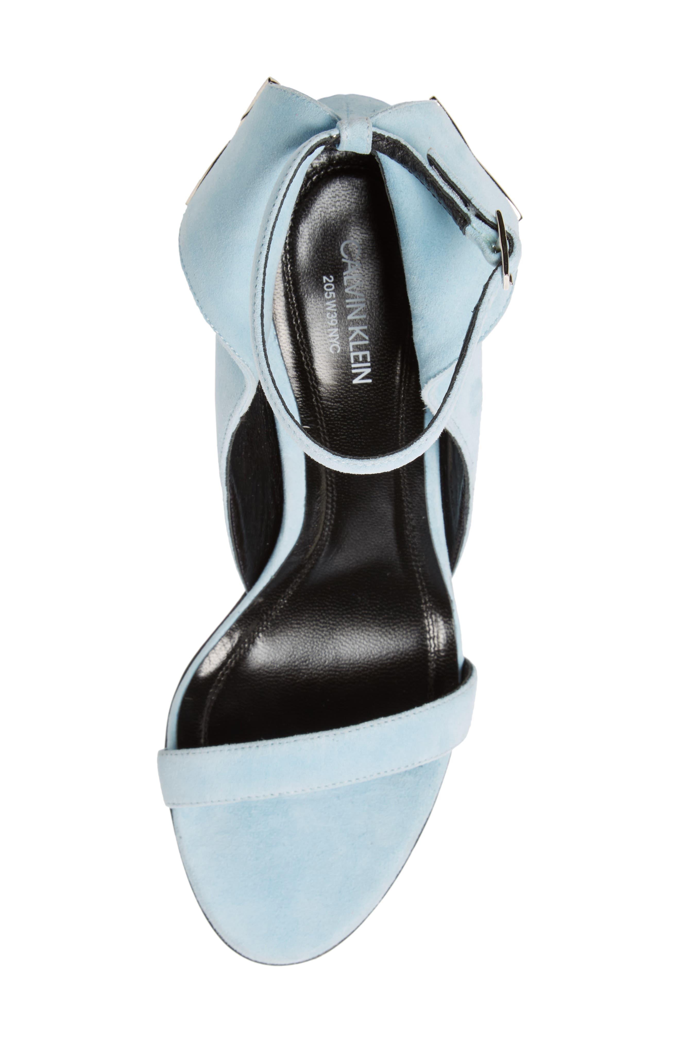 Leititia Ankle Strap Sandal,                             Alternate thumbnail 5, color,                             400