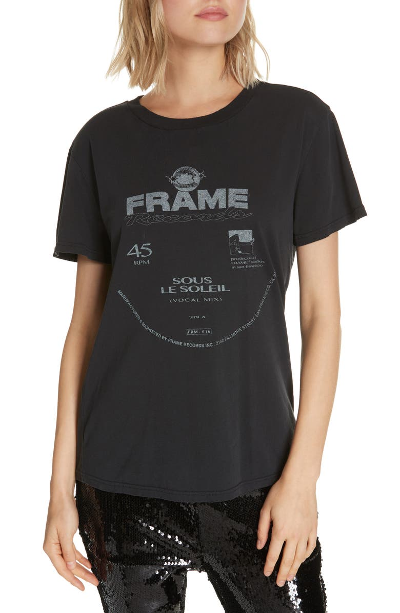 Frame WORN OUT GRAPHIC TEE