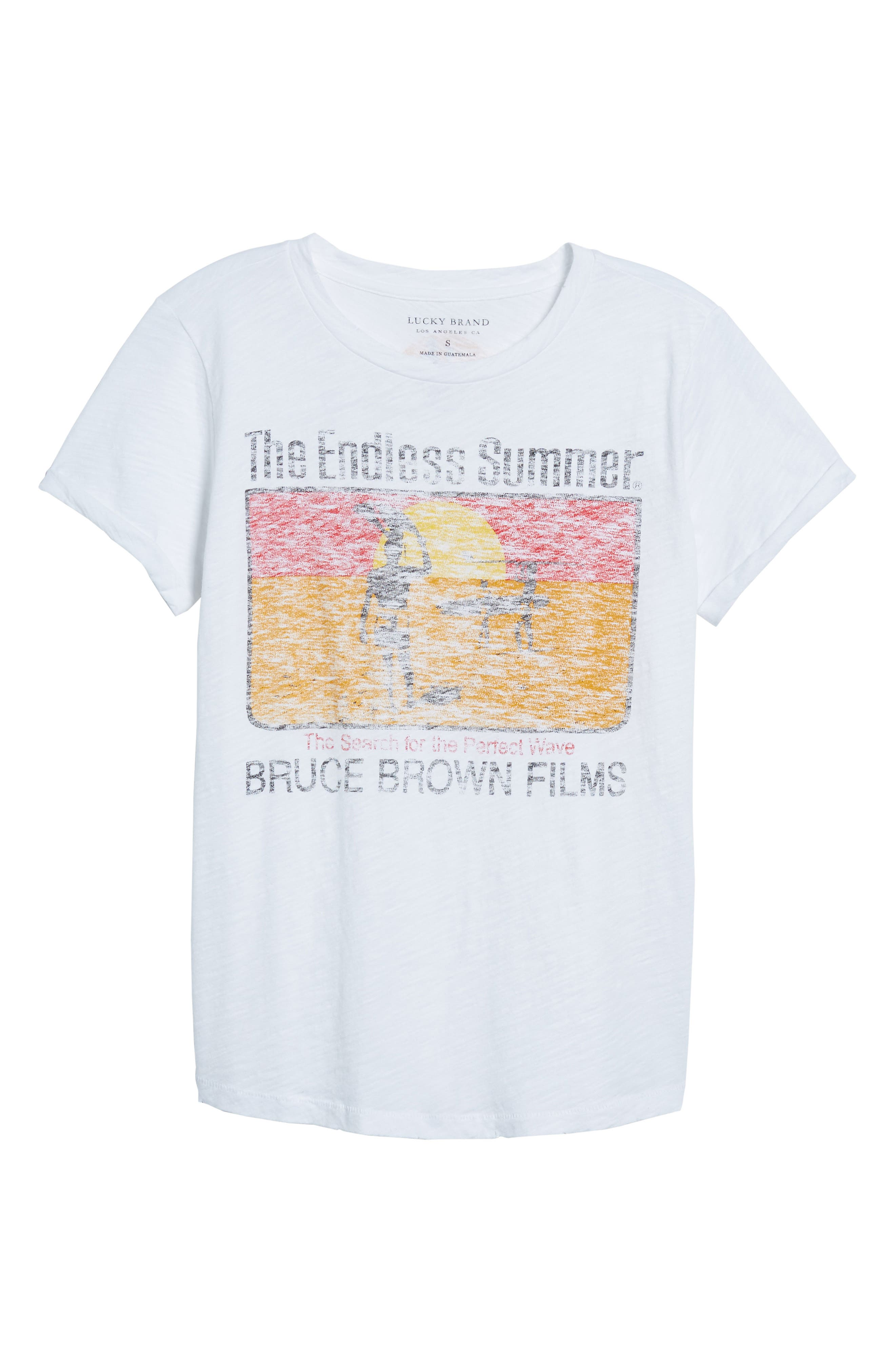The Endless Summer Graphic Tee,                             Alternate thumbnail 6, color,                             110