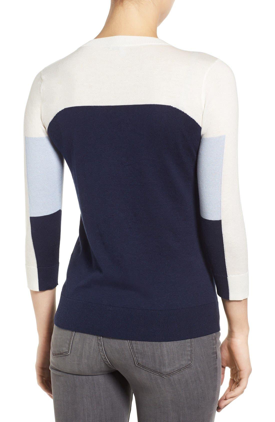 Cotton Blend Pullover,                             Alternate thumbnail 164, color,