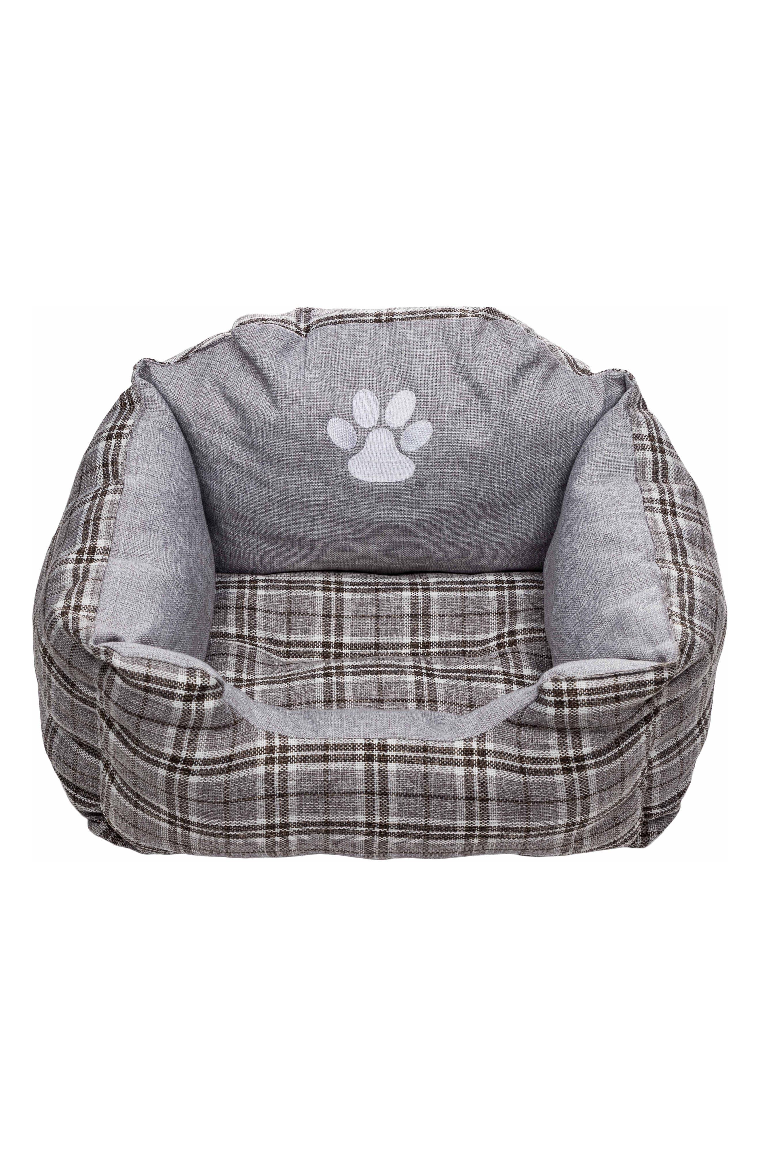 Harlee Small Square Pet Bed,                             Main thumbnail 1, color,                             020
