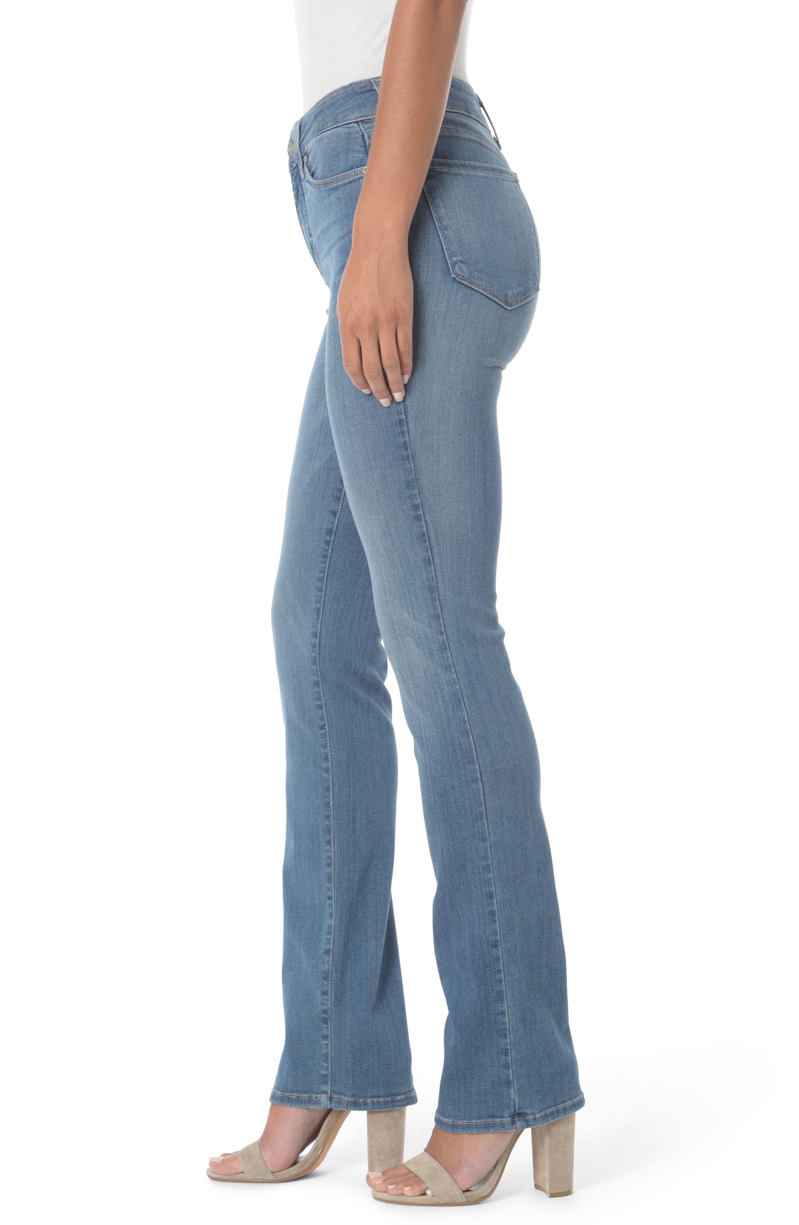 Marilyn Straight Jeans,                             Alternate thumbnail 9, color,