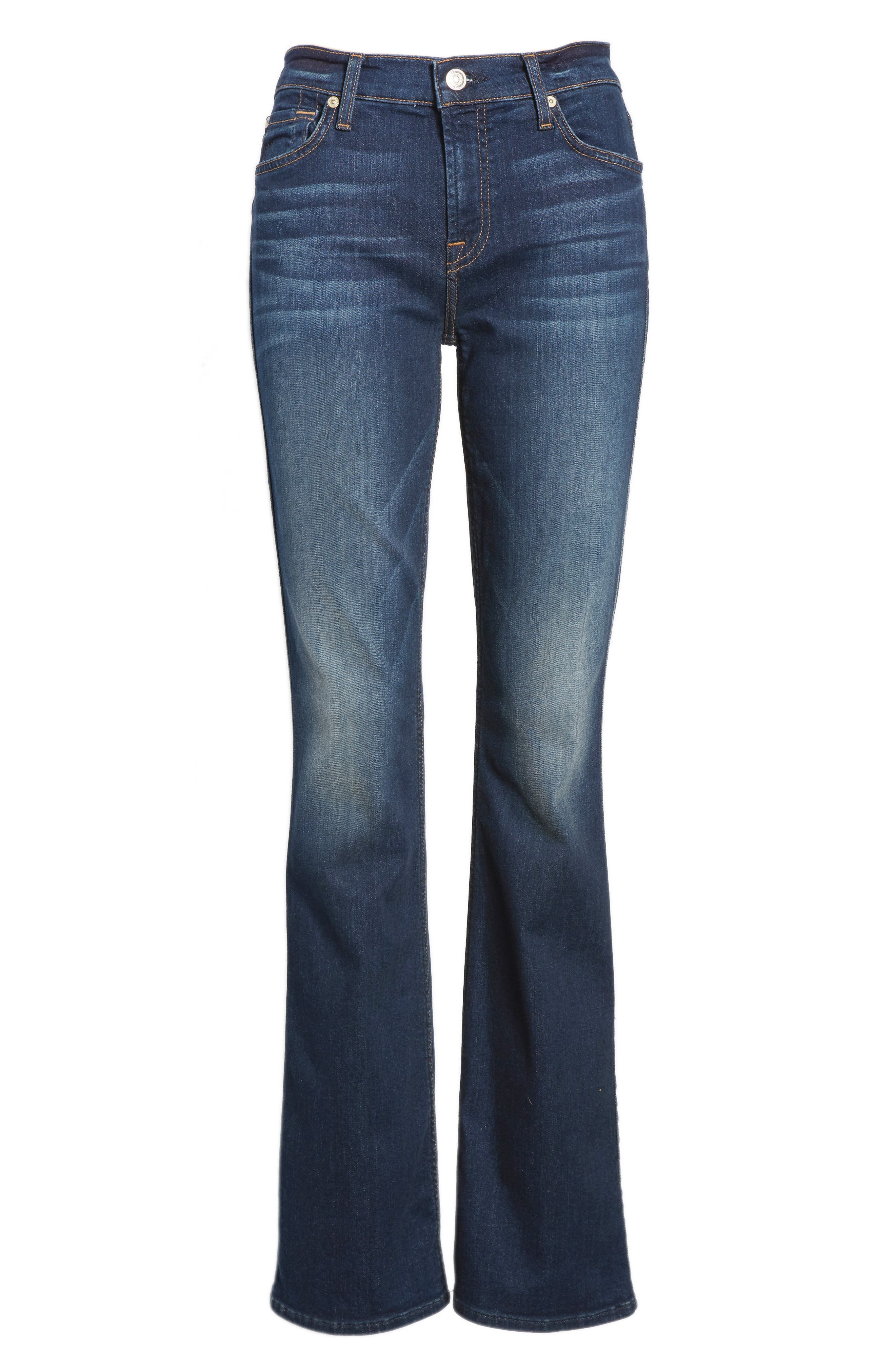 b(air) Iconic Bootcut Jeans,                             Alternate thumbnail 7, color,                             MORENO