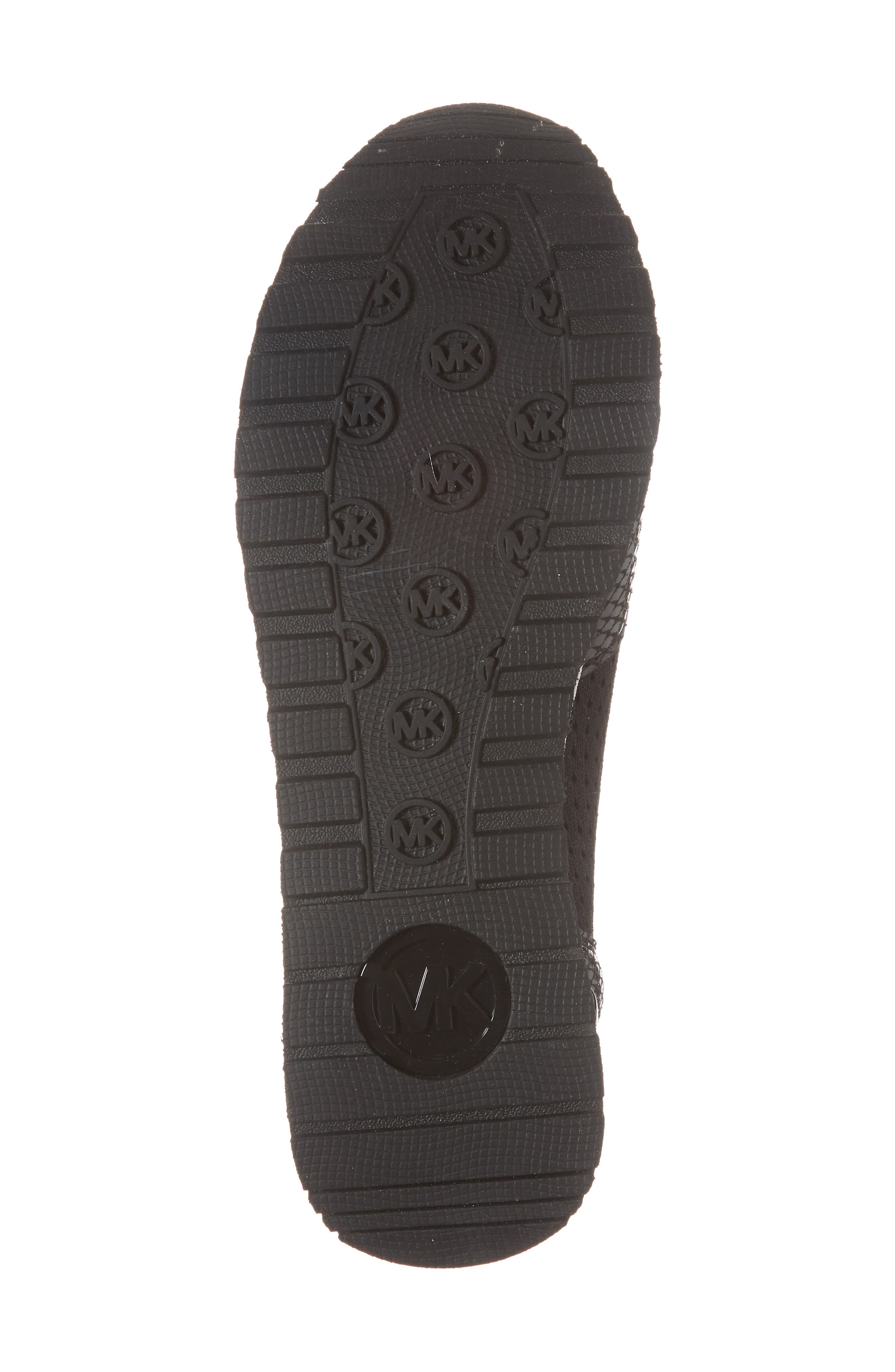 Billie Perforated Sneaker,                             Alternate thumbnail 6, color,                             002