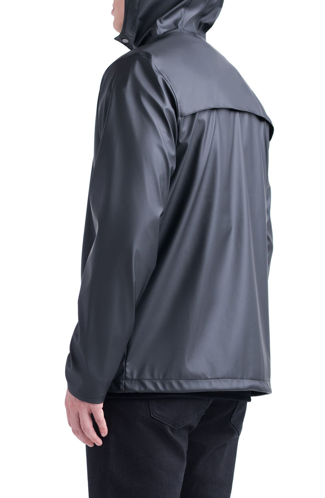 Forecast Hooded Coaches Jacket,                             Alternate thumbnail 4, color,                             002