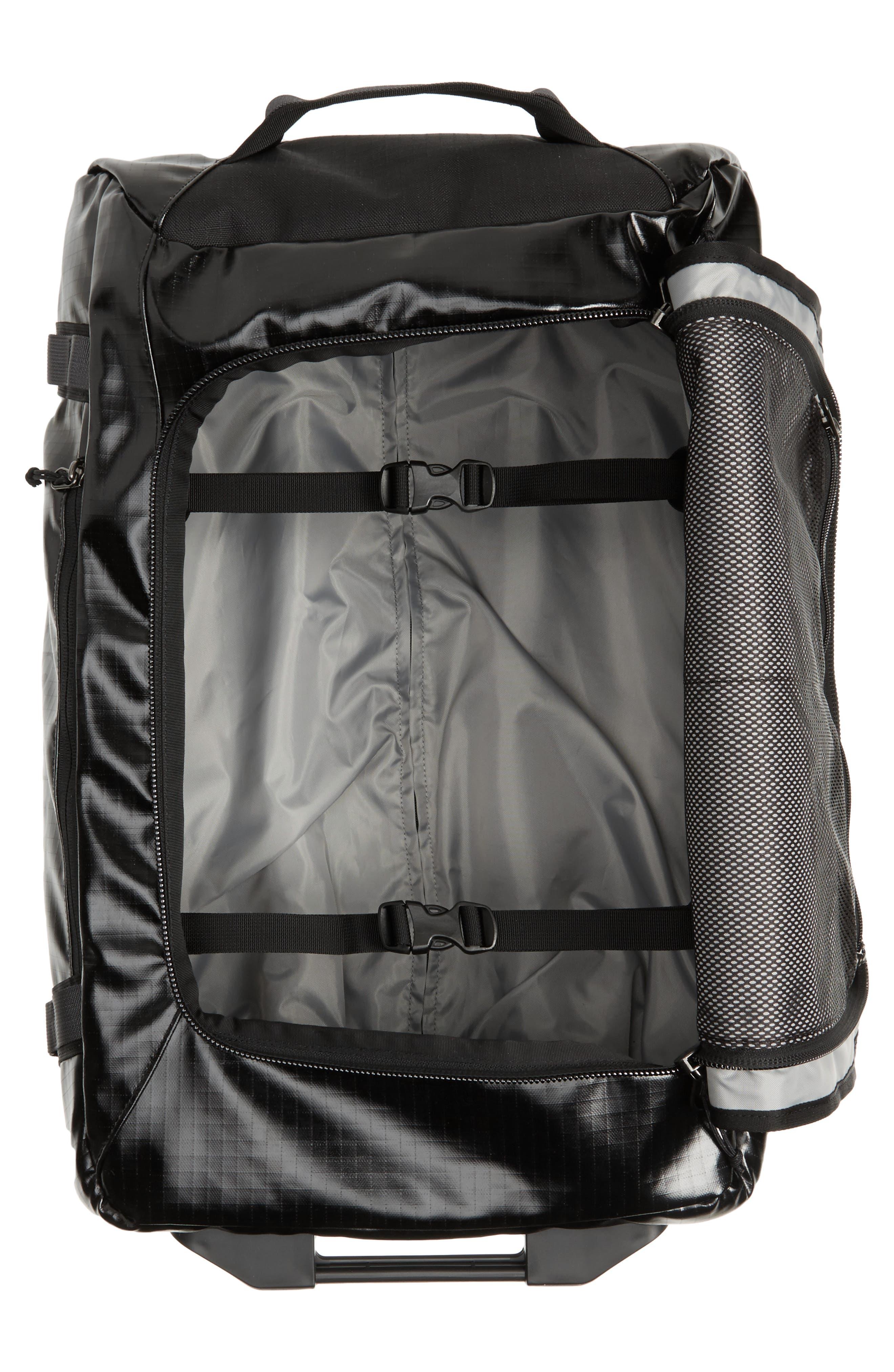 Black Hole 40-Liter Rolling Duffel Bag,                             Alternate thumbnail 2, color,                             001