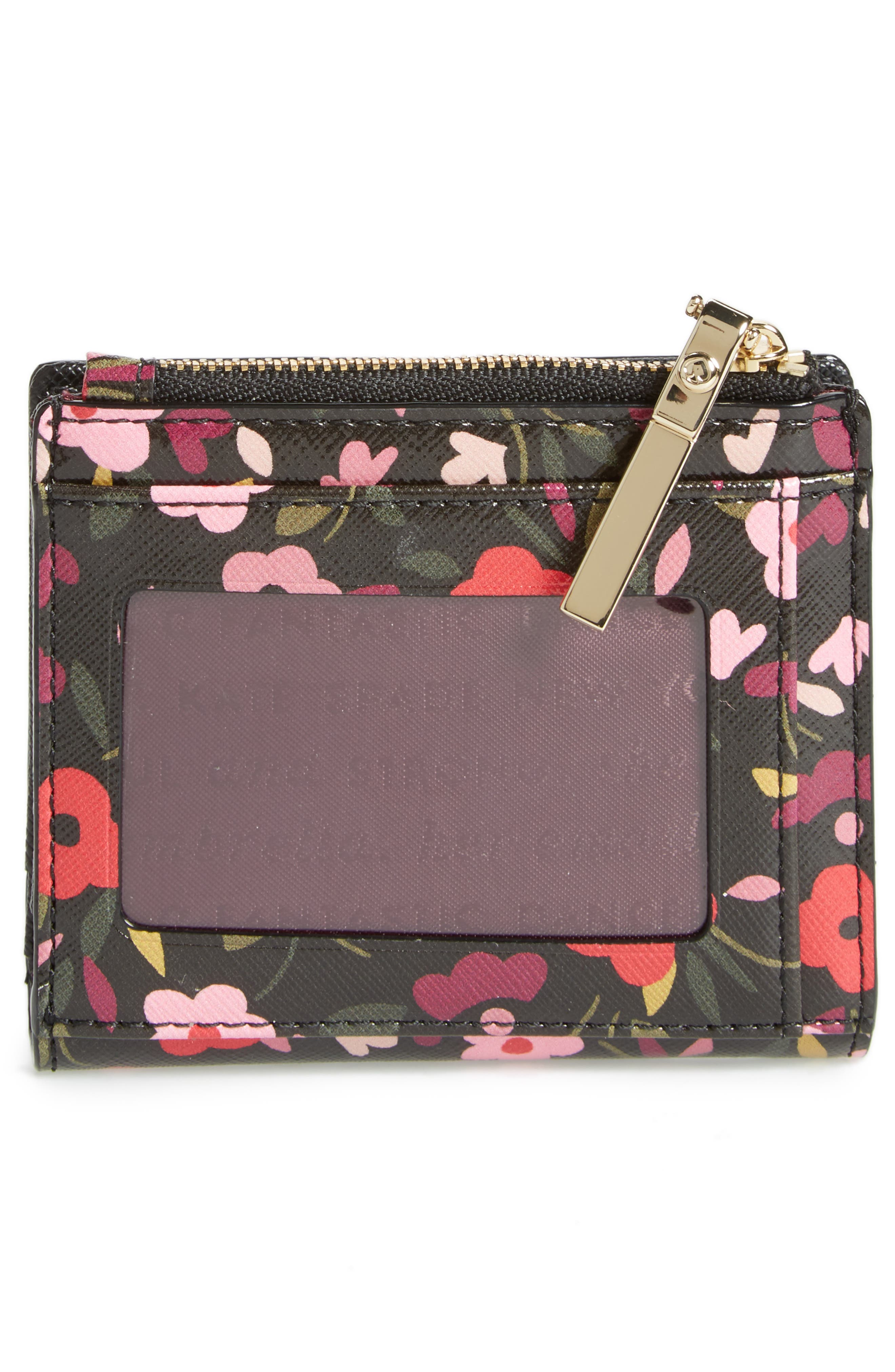 cameron street - adalyn boho floral wallet,                             Alternate thumbnail 4, color,                             001