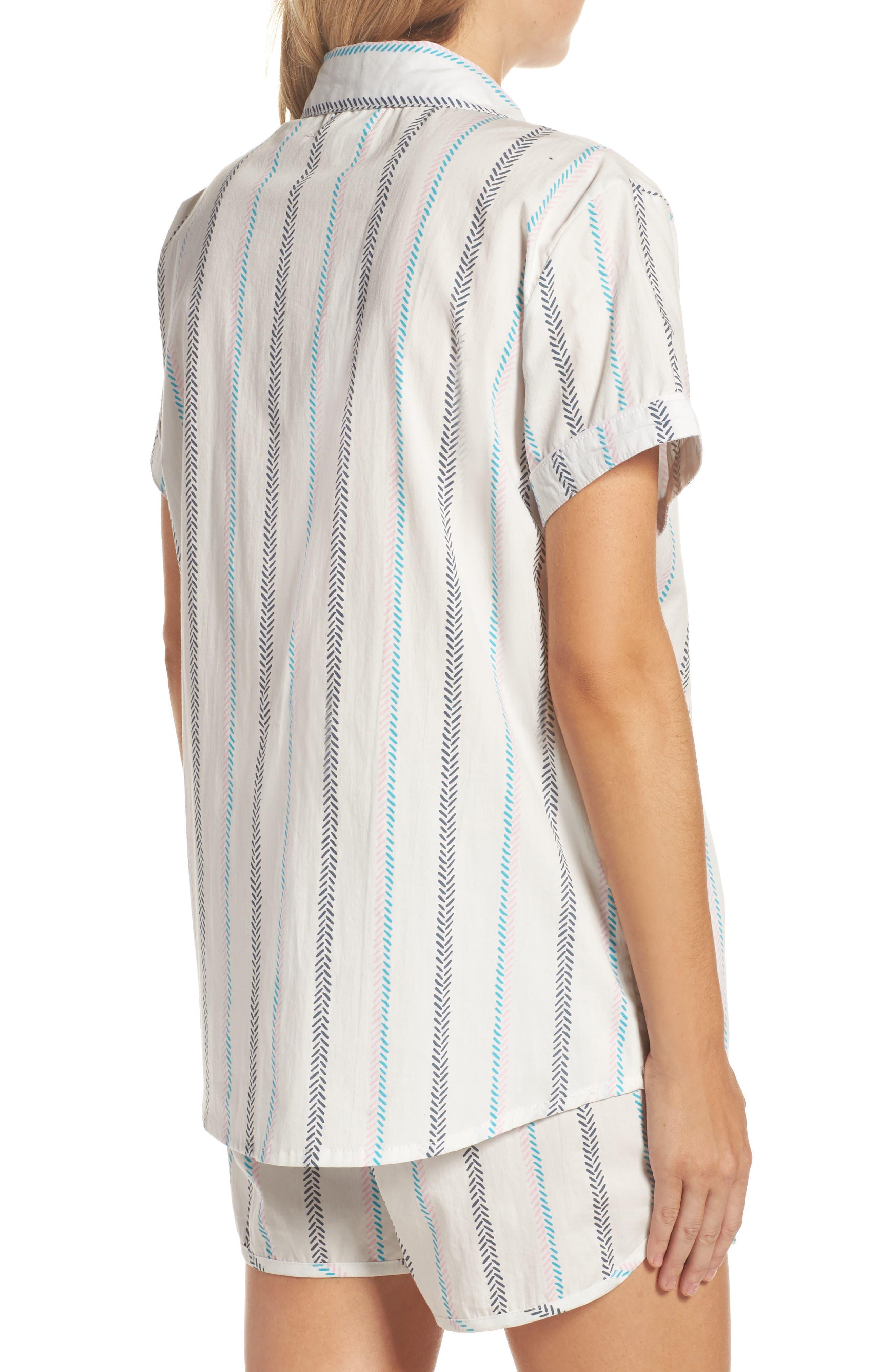 Kit Short Pajamas,                             Alternate thumbnail 2, color,