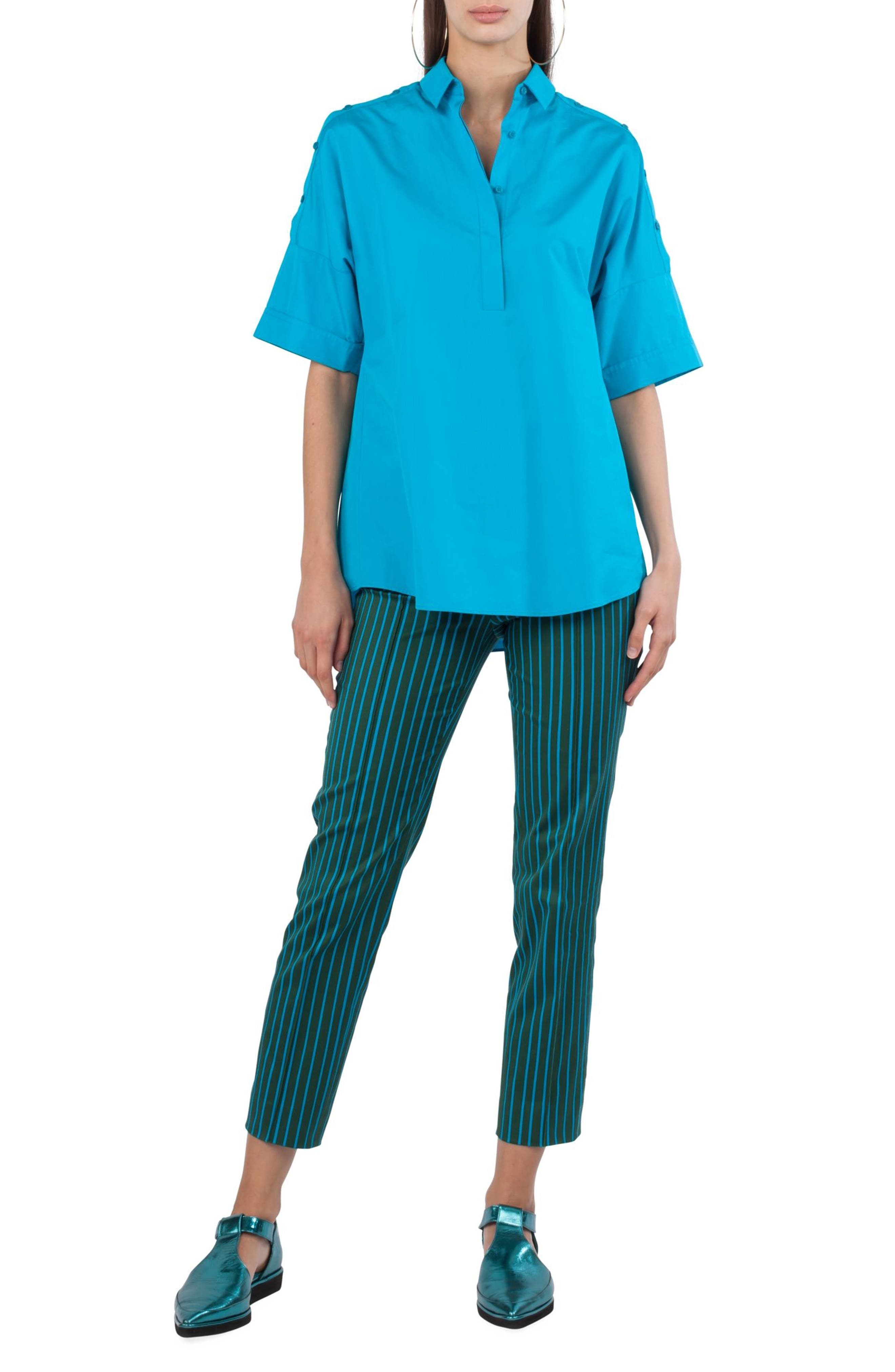 Button Shoulder Kimono Blouse,                         Main,                         color, 475