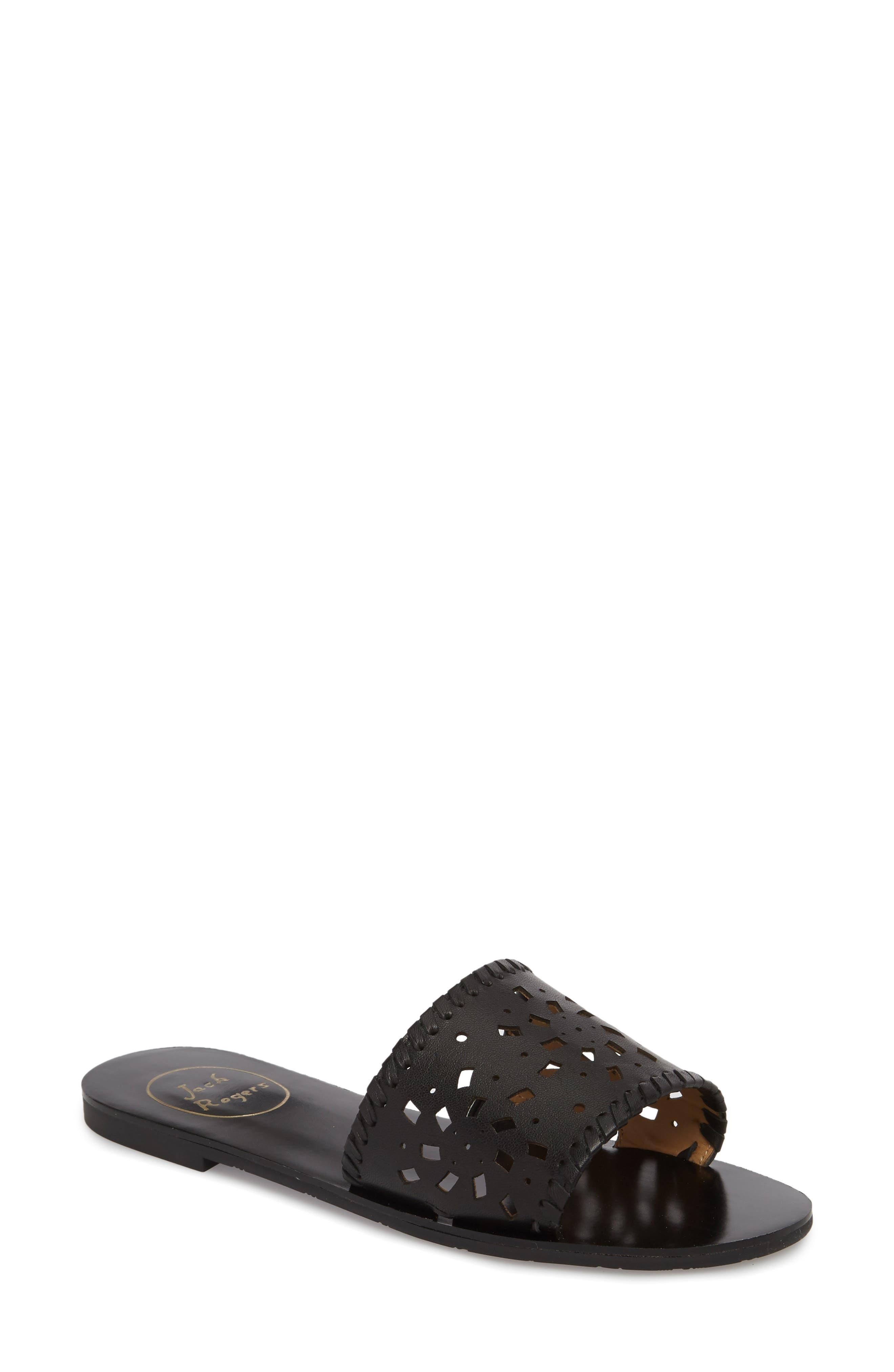 Delilah Slide Sandal,                         Main,                         color, 001