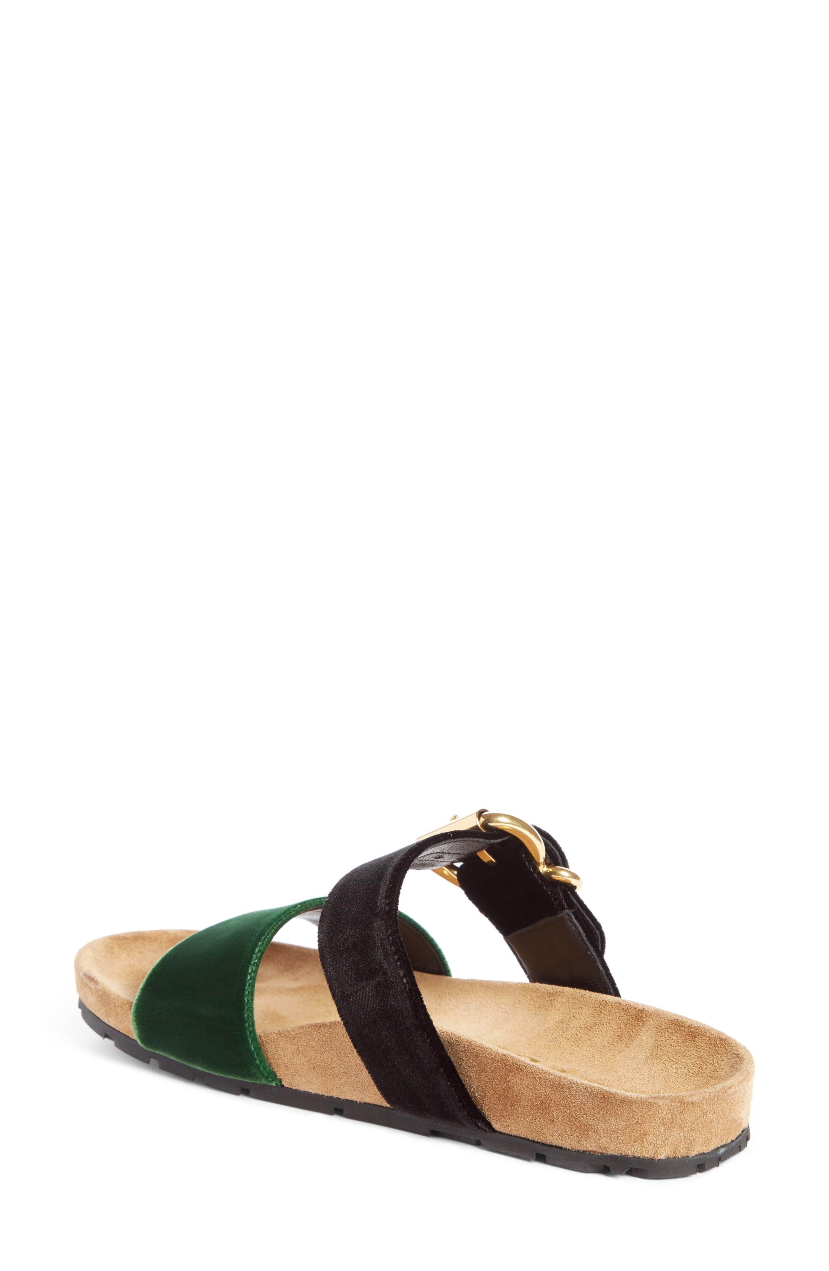 Double Band Slide Sandal,                             Alternate thumbnail 2, color,                             300