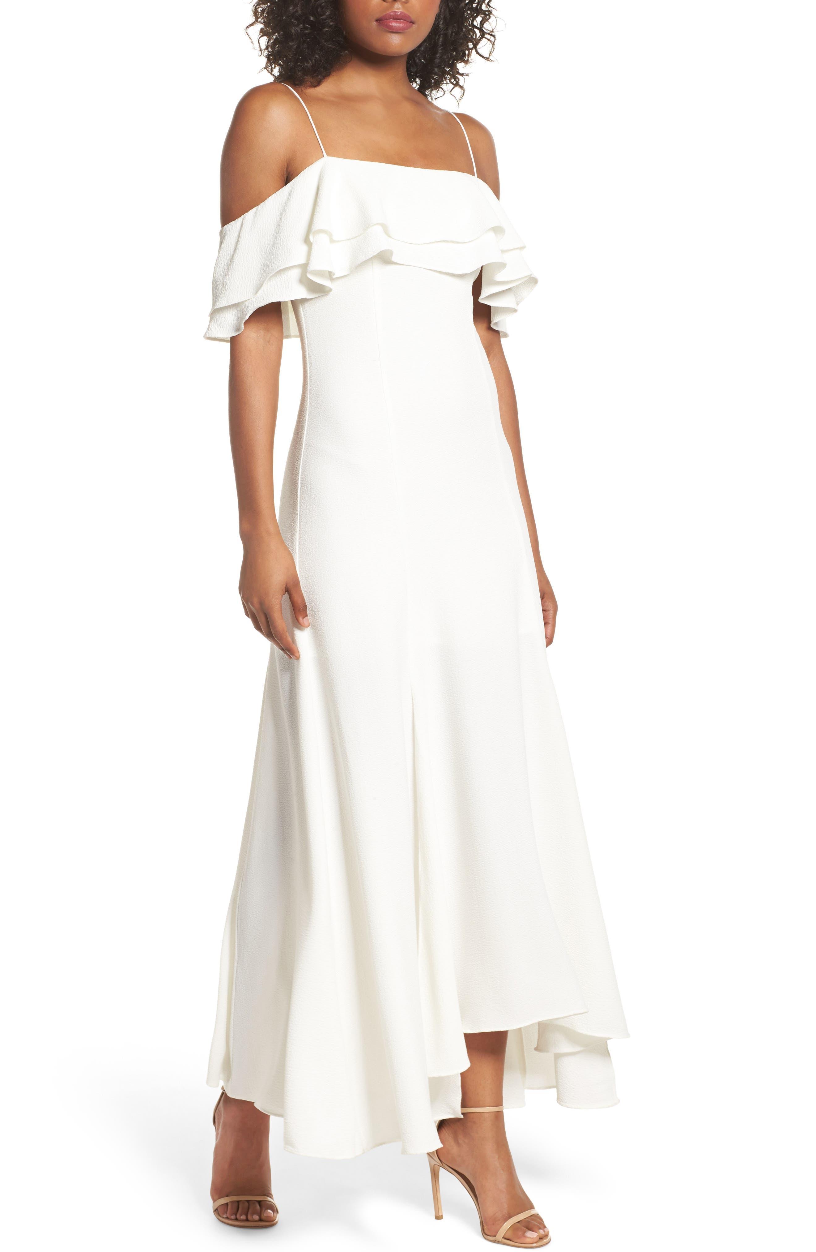 ranslation Cold Shoulder Gown,                         Main,                         color, 902