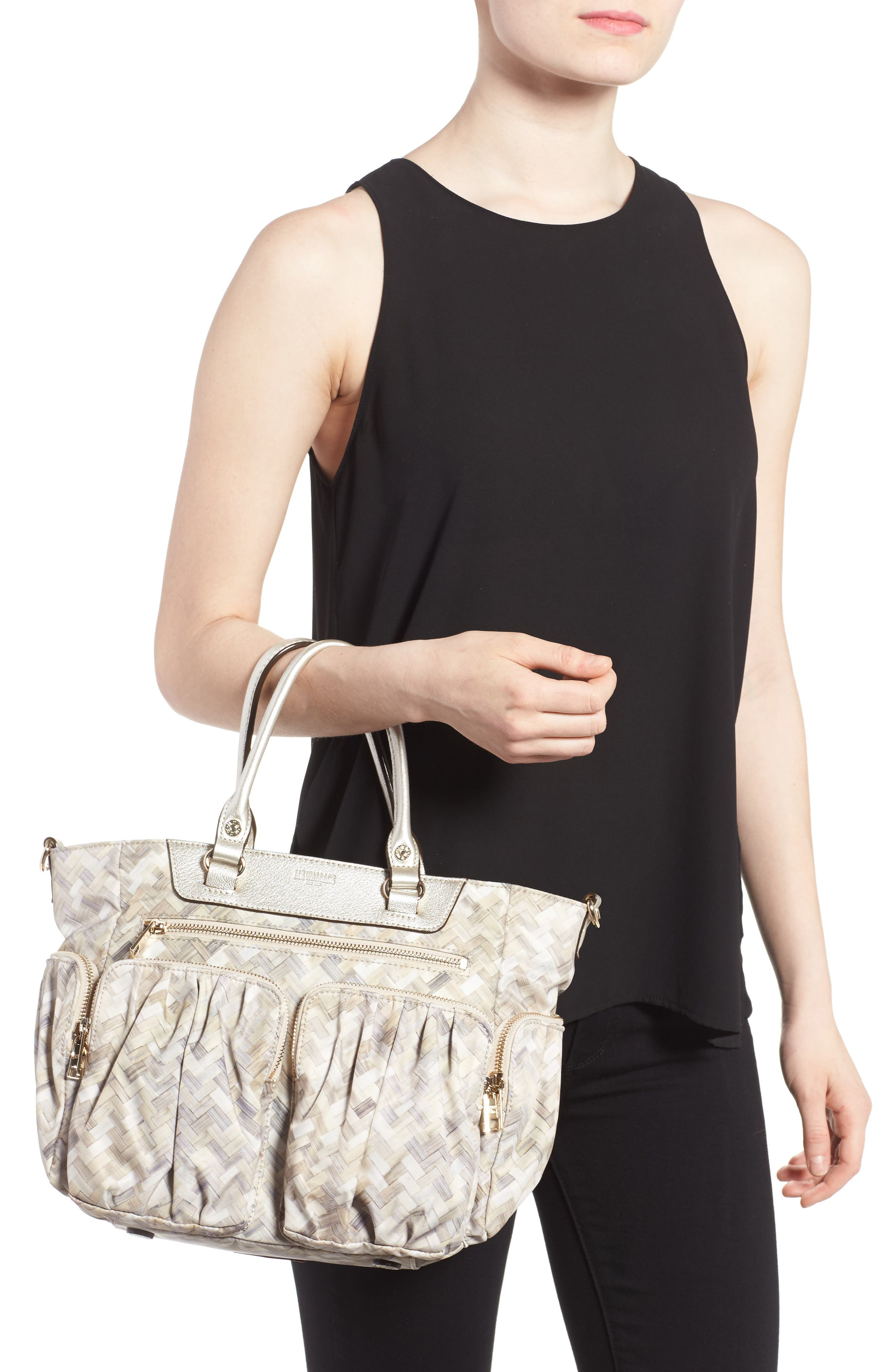 Small Abbey Tote,                             Alternate thumbnail 7, color,