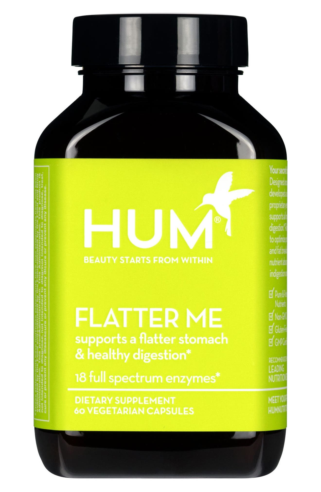 Flatter Me Digestive Enzyme Supplement,                         Main,                         color, NO COLOR